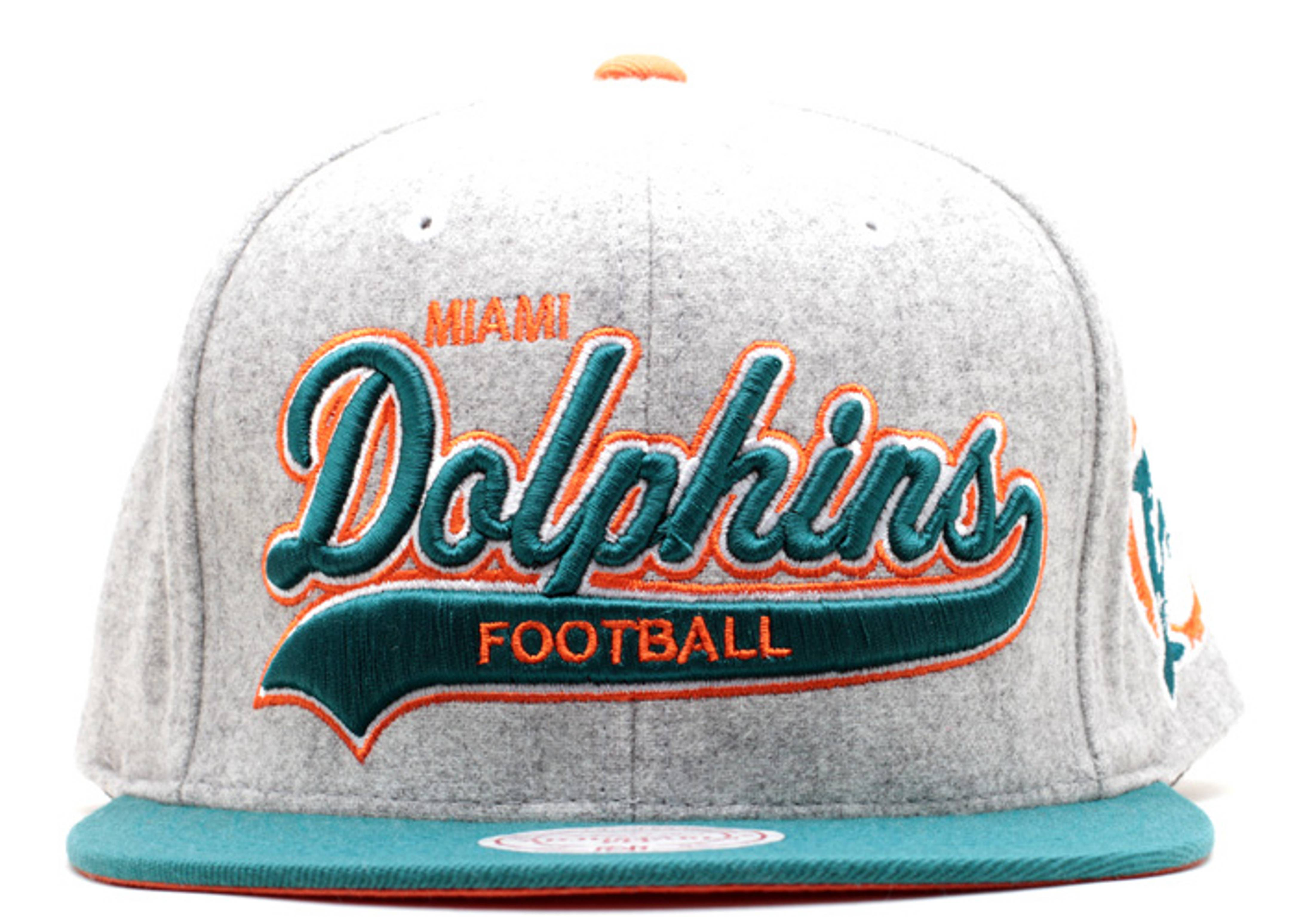 miami dolphins strap-back