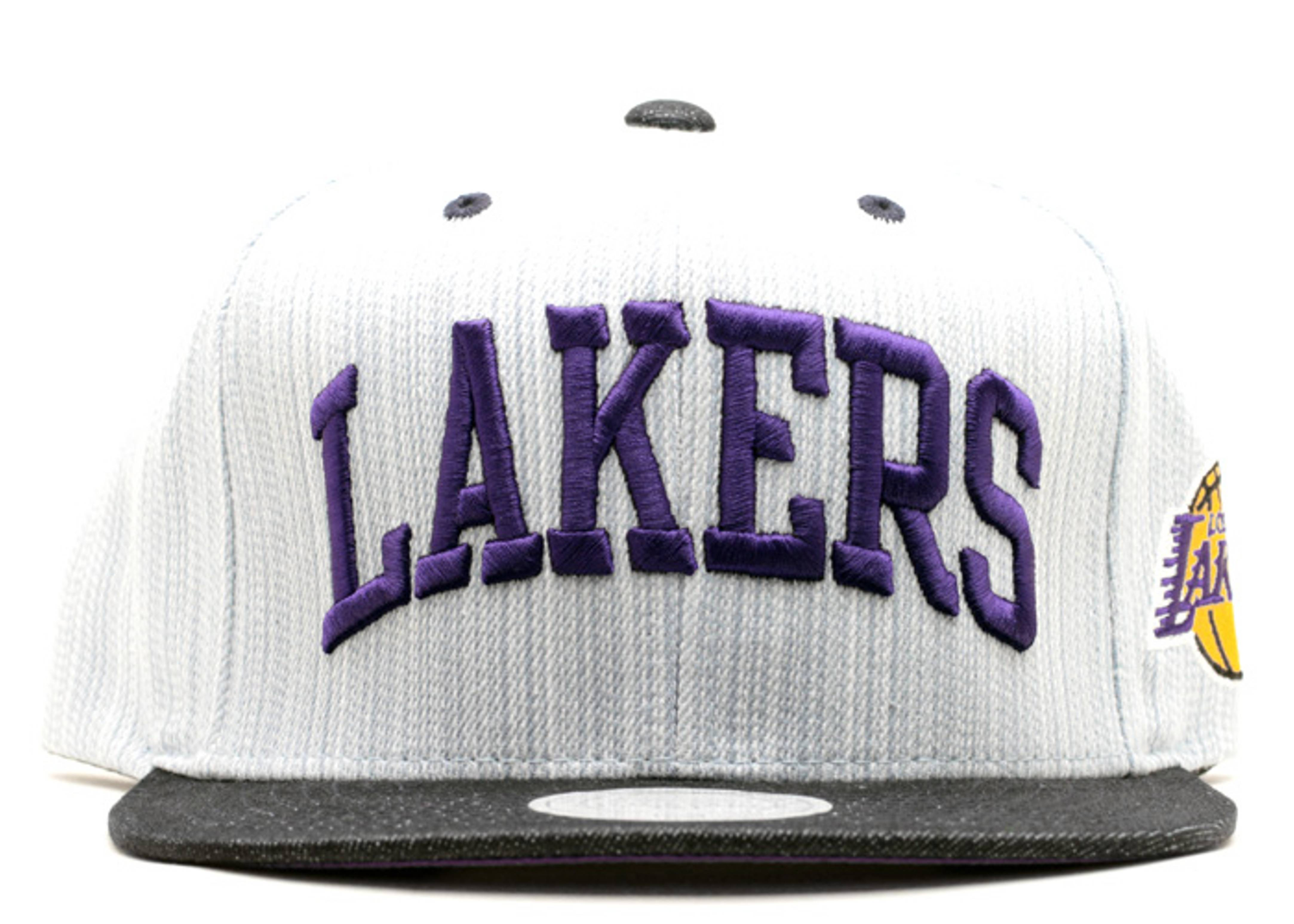 "los angeles lakers snap-back ""denim"""