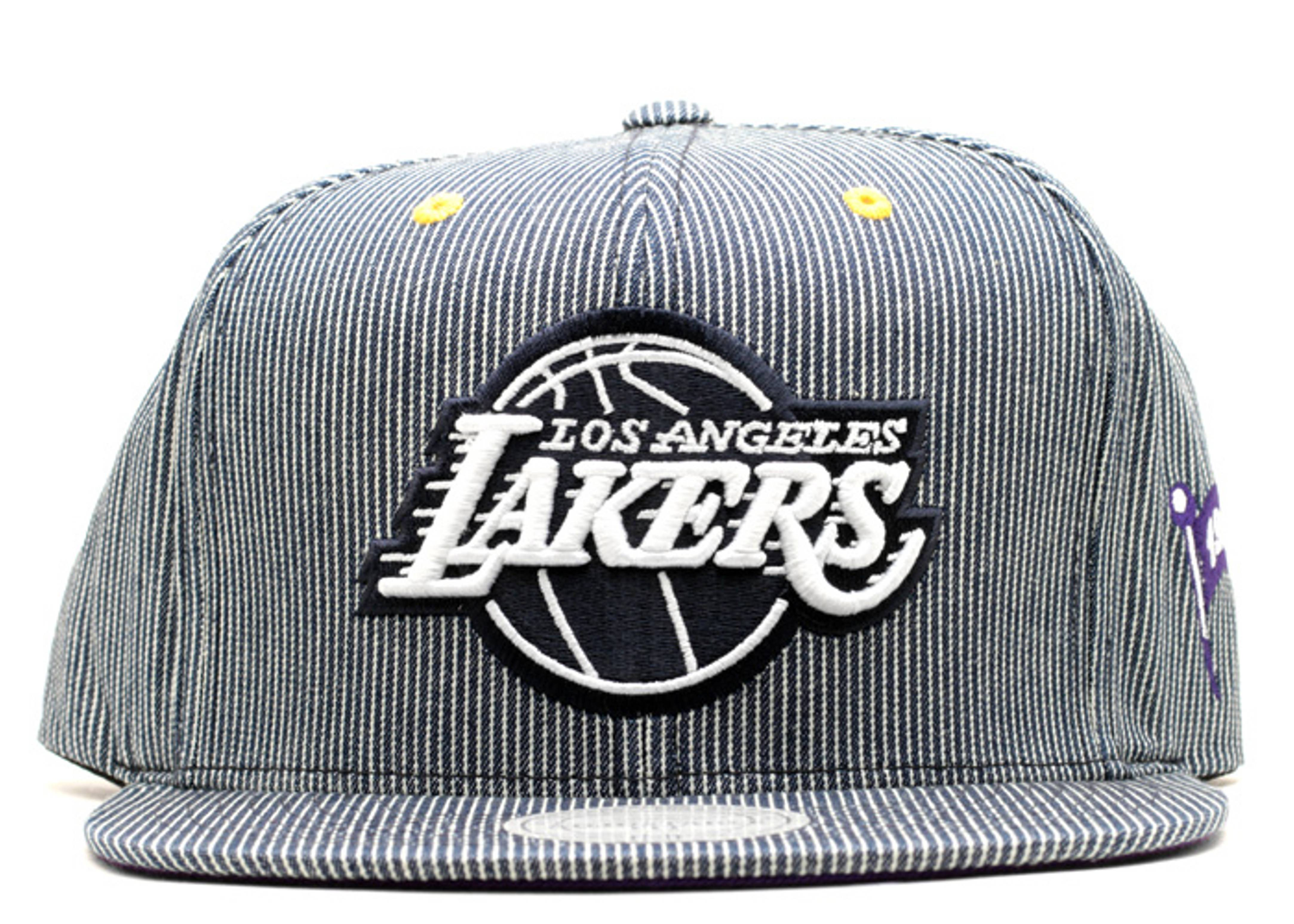 """los angeles lakers strap-back """"hickory"""""""