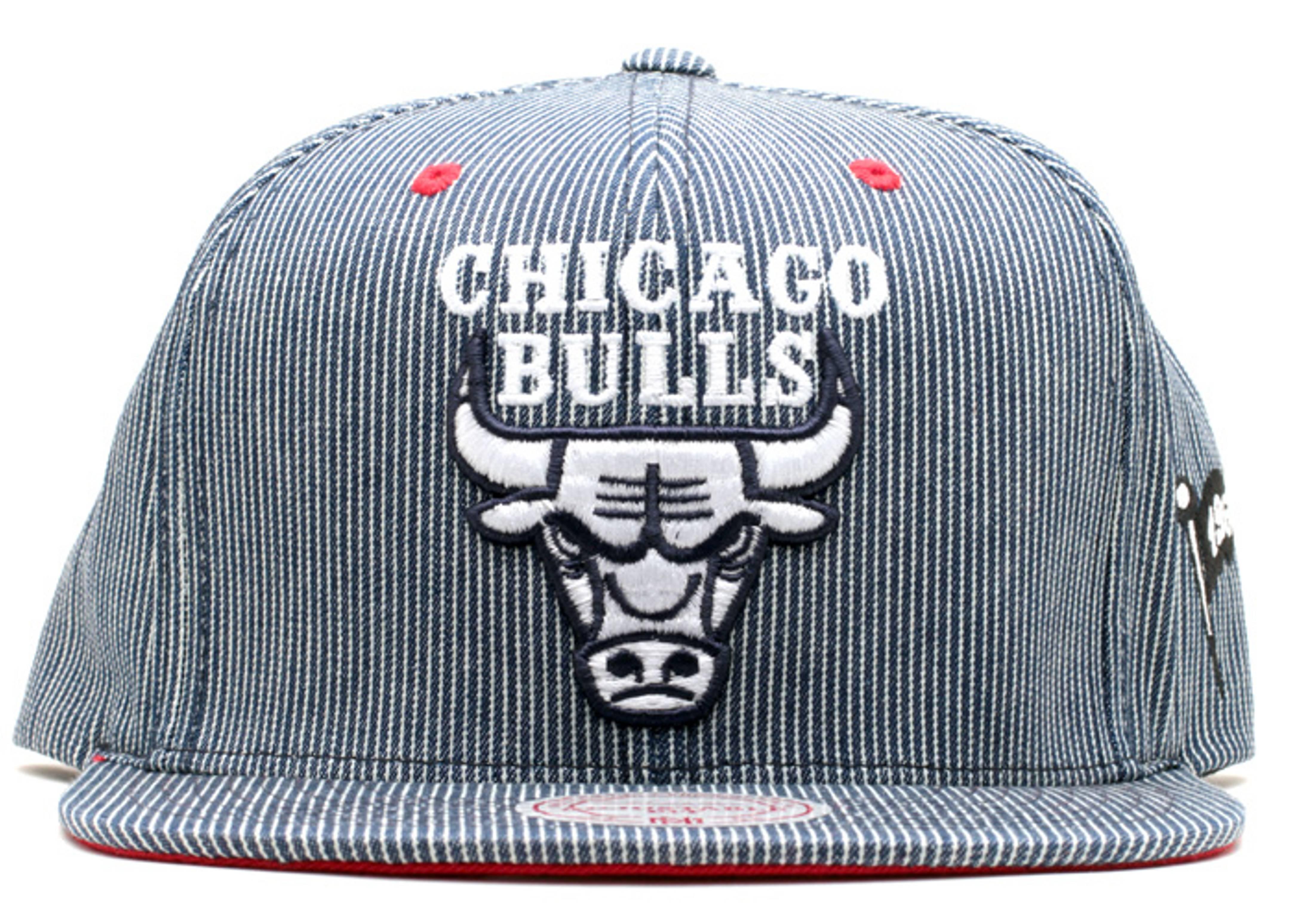 """chicago bulls strap-back """"hickory"""""""