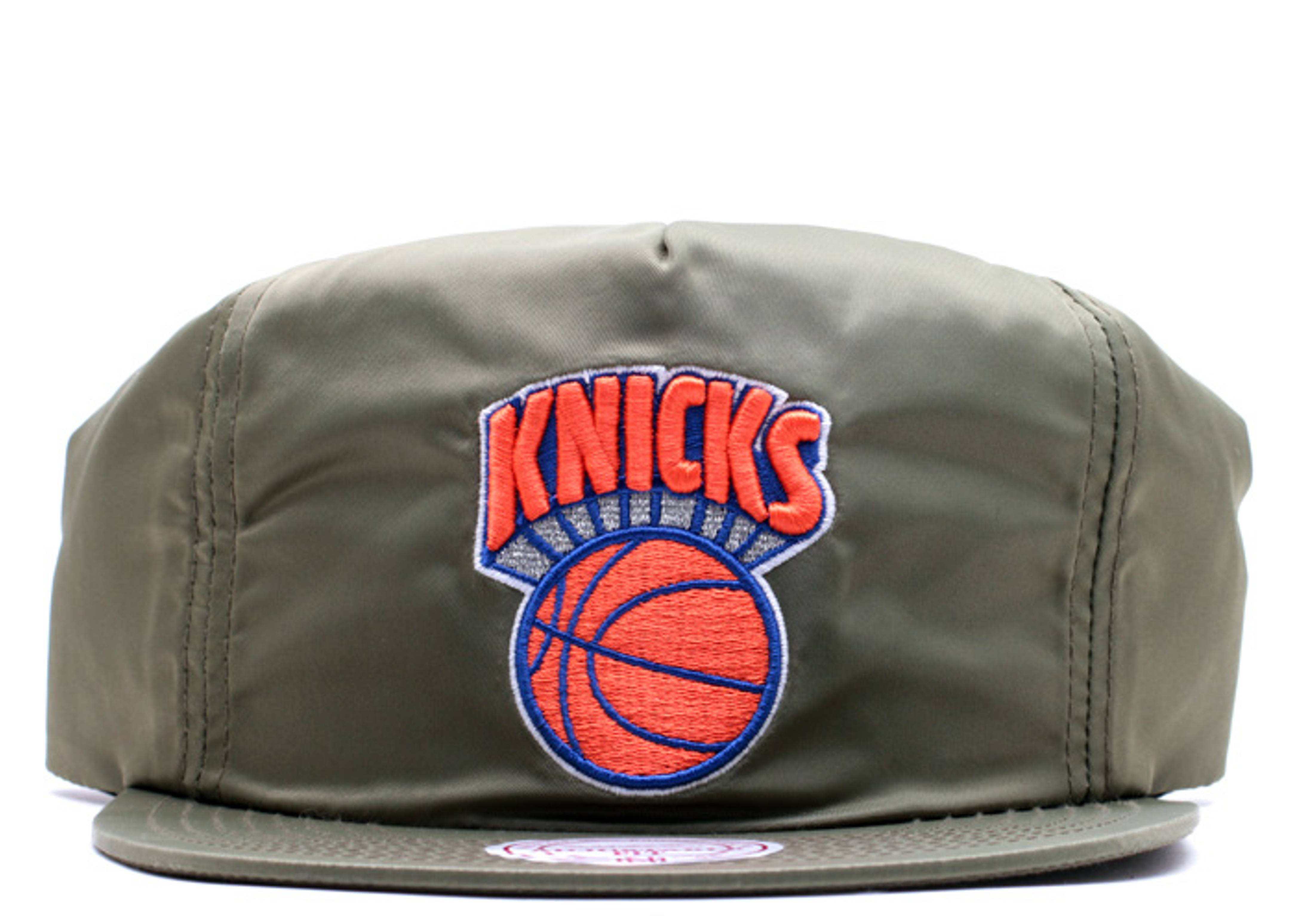 "new york knicks zip-back ""nylon"""
