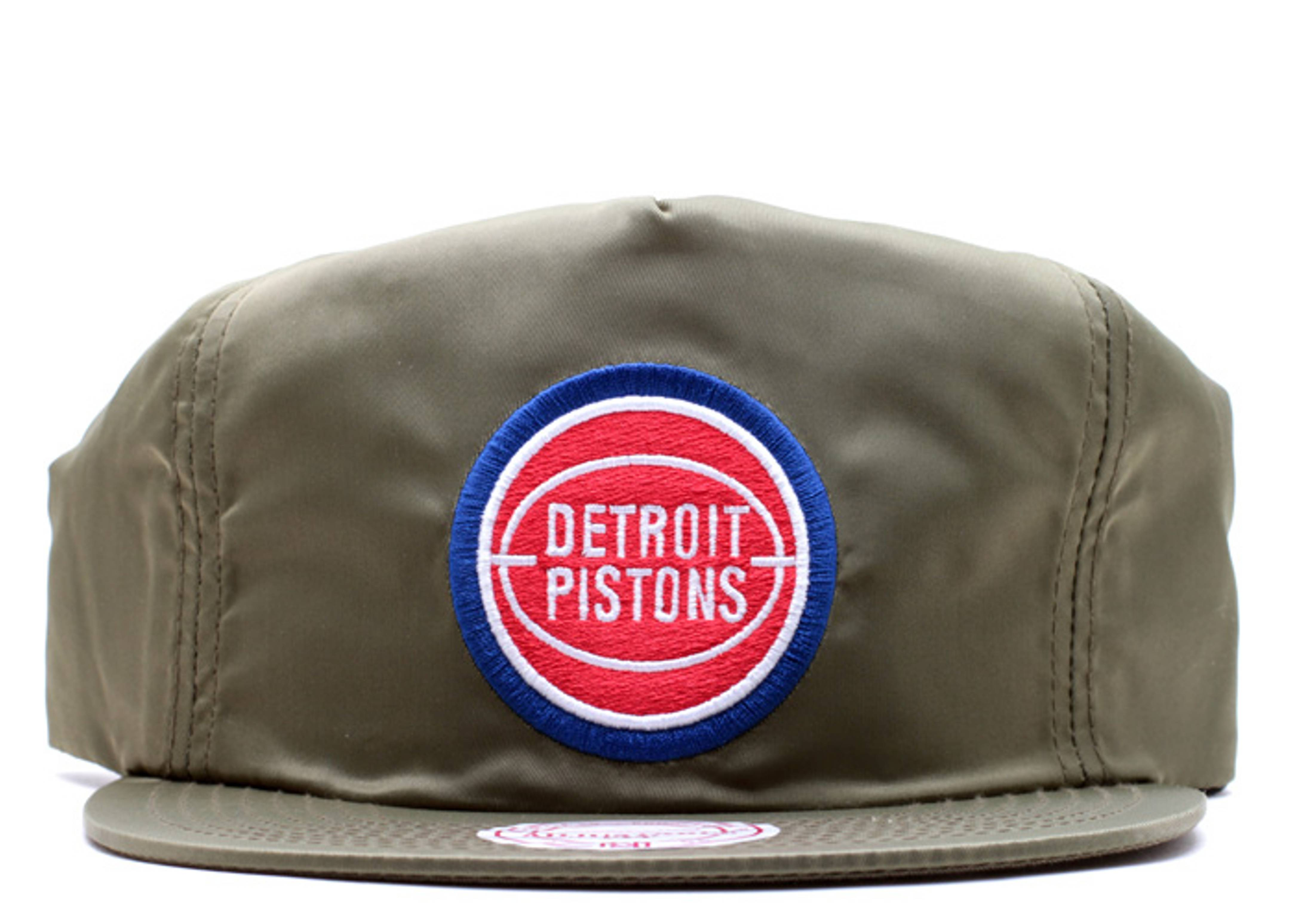 """detroit pistons zip-back """"nylon"""""""