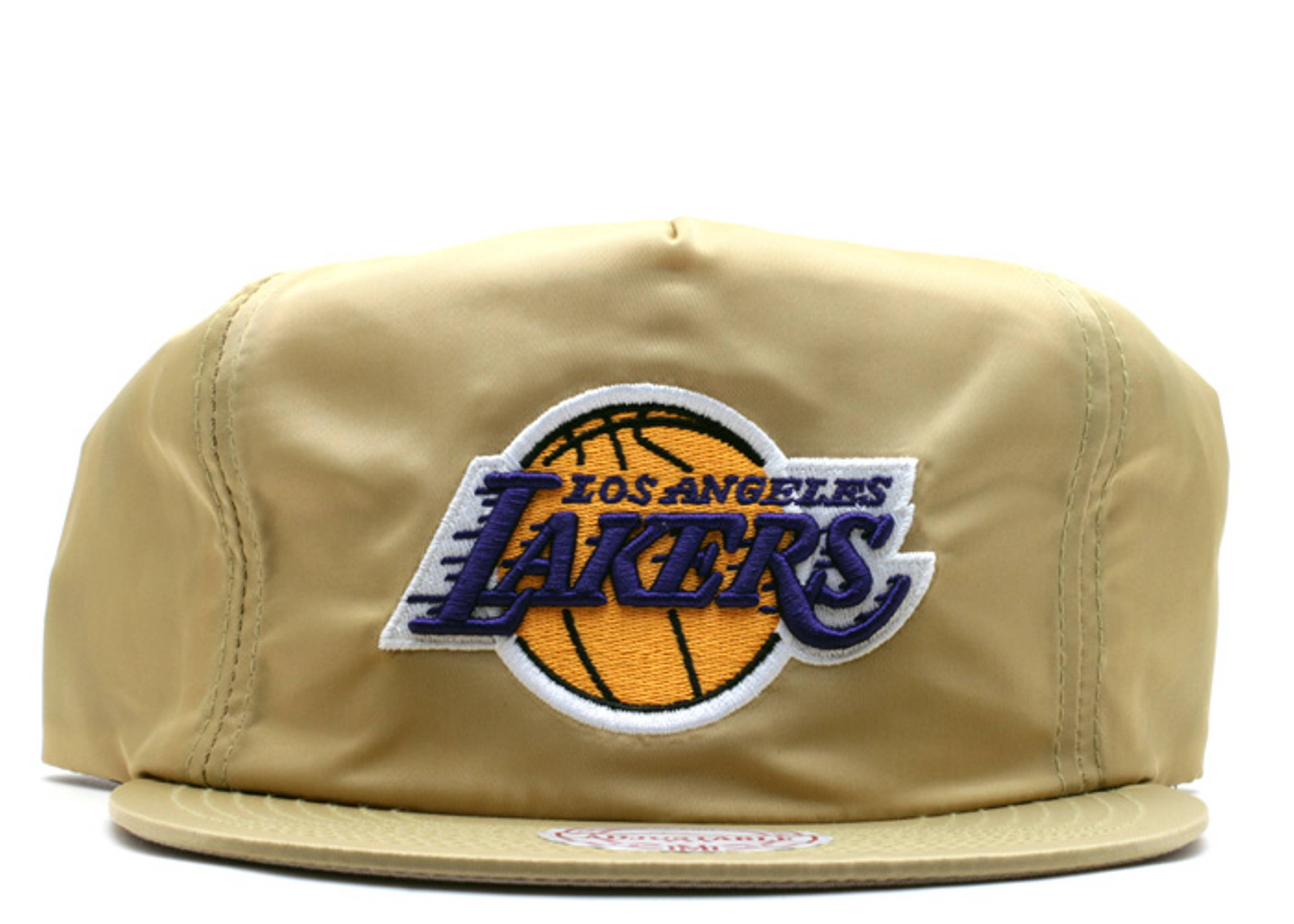 "los angeles lakers zip-back ""nylon"""