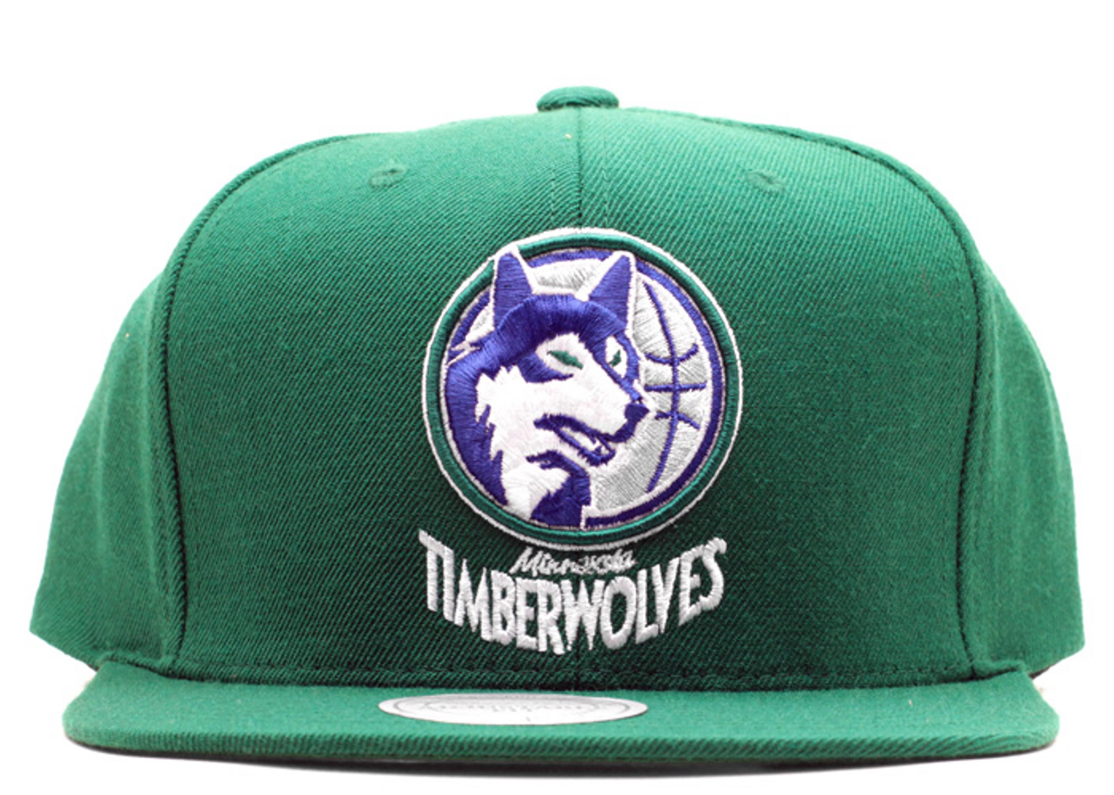 minnesota timberwolves snap-back