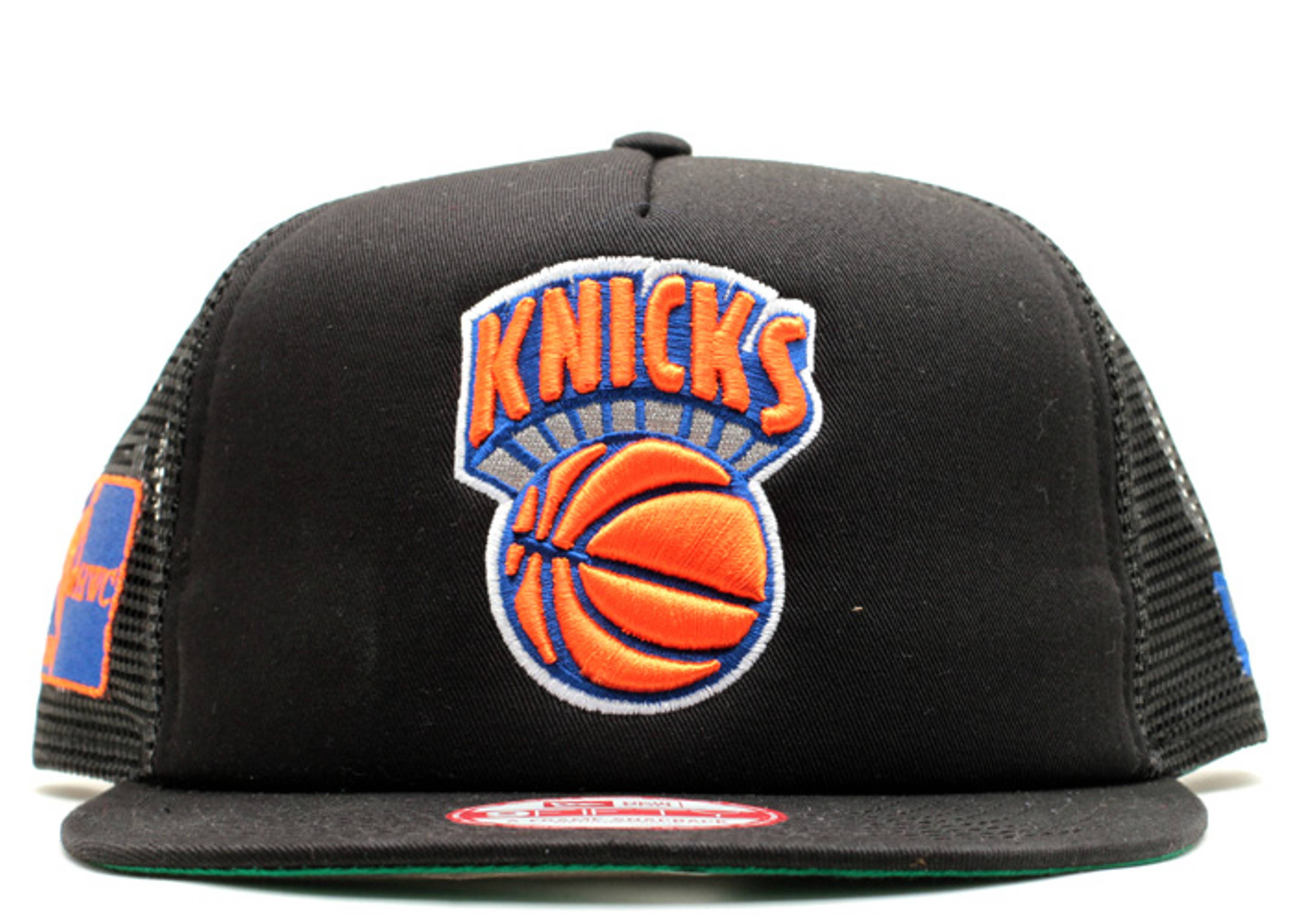 new york knicks trucker snap-back
