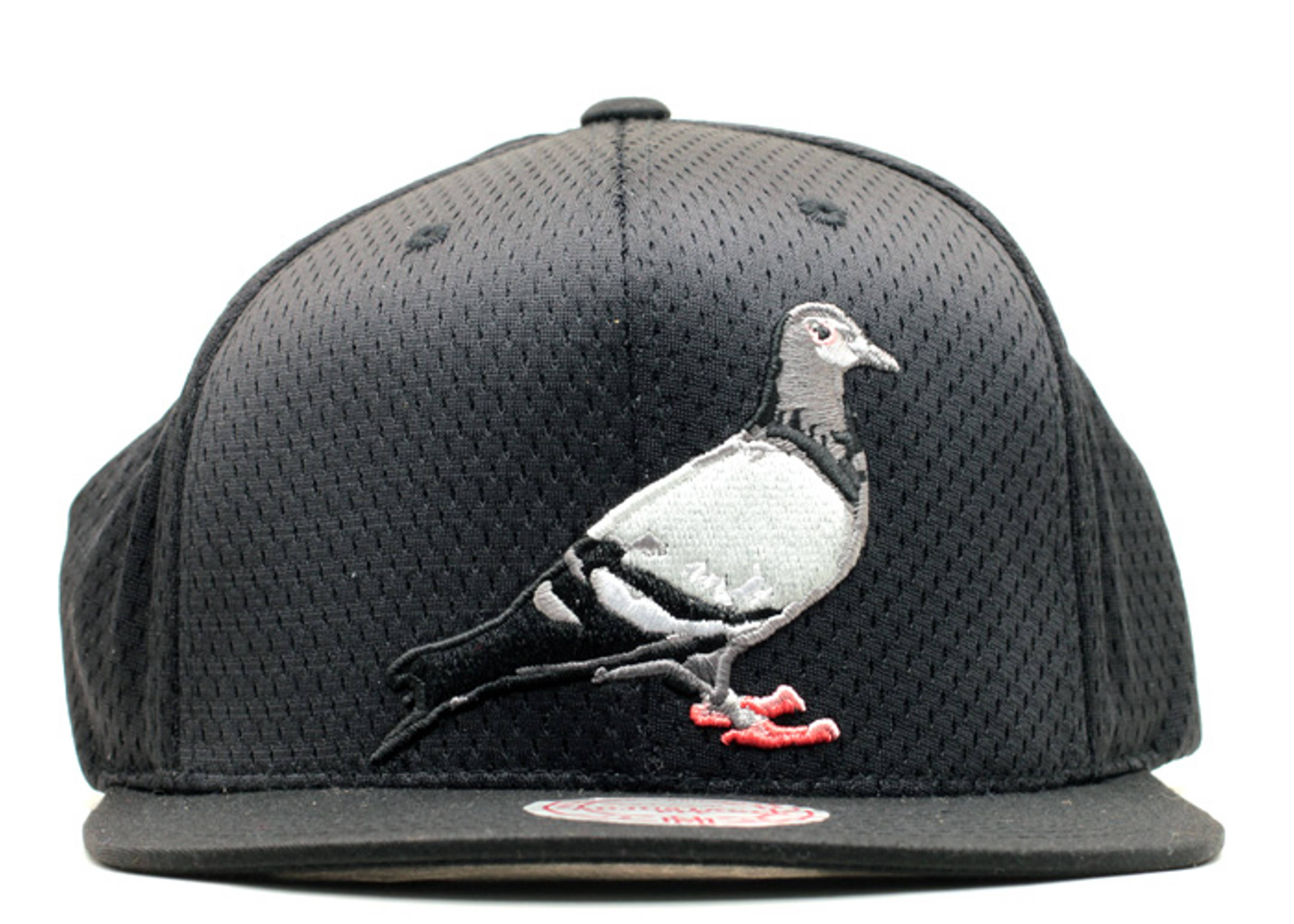 staple pigeon jersey mesh snap-back