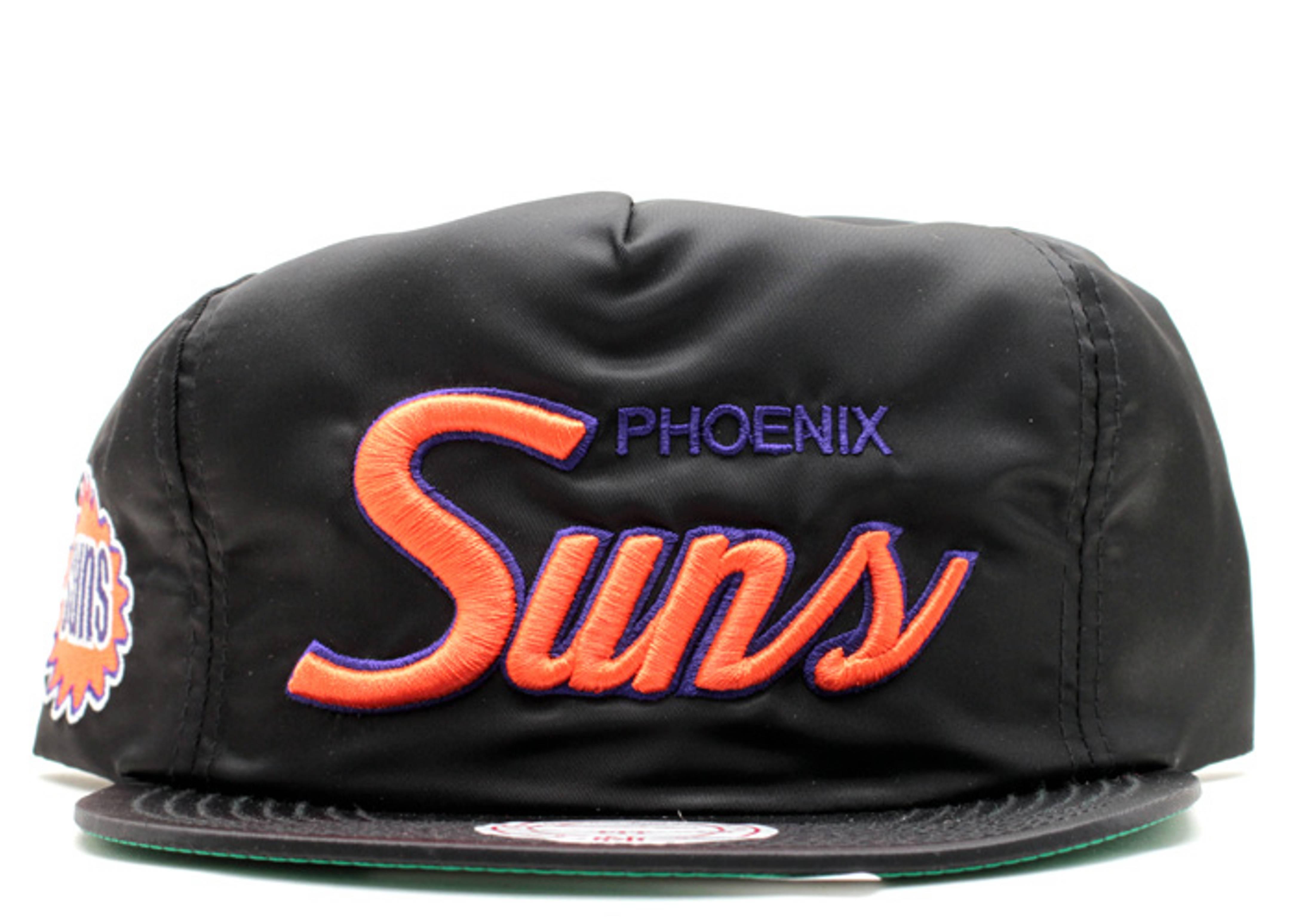 phoenix suns nylon zip-back