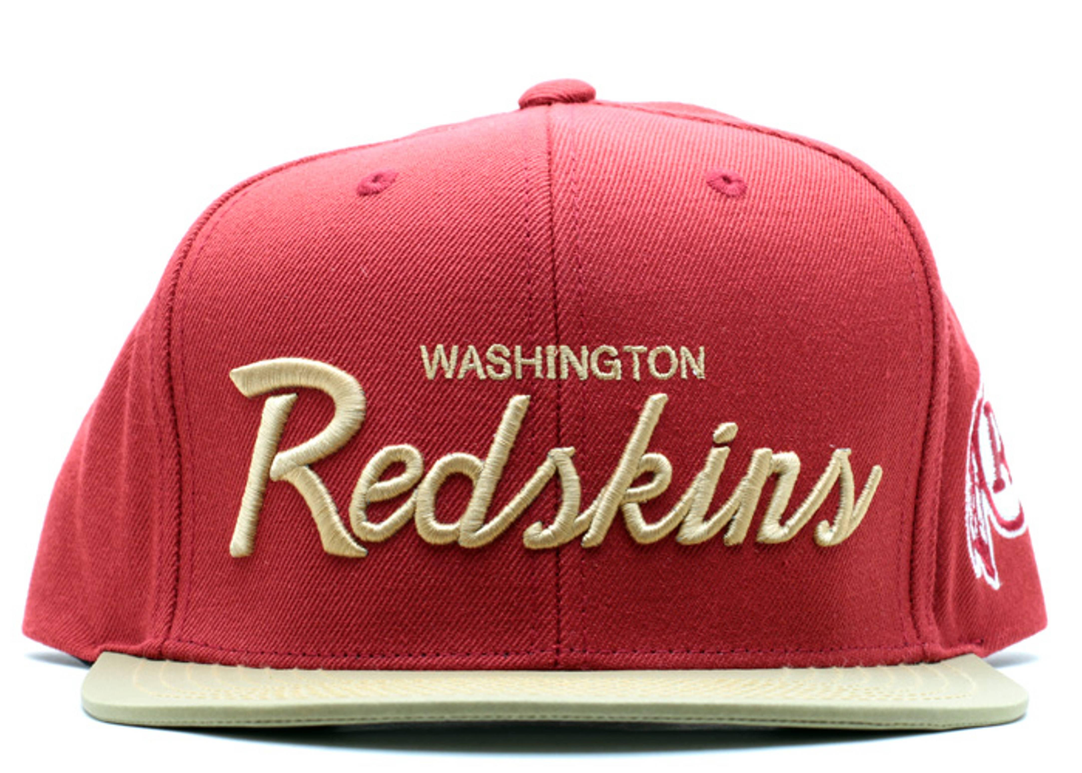 """washington redskins snap-back """"3m"""""""