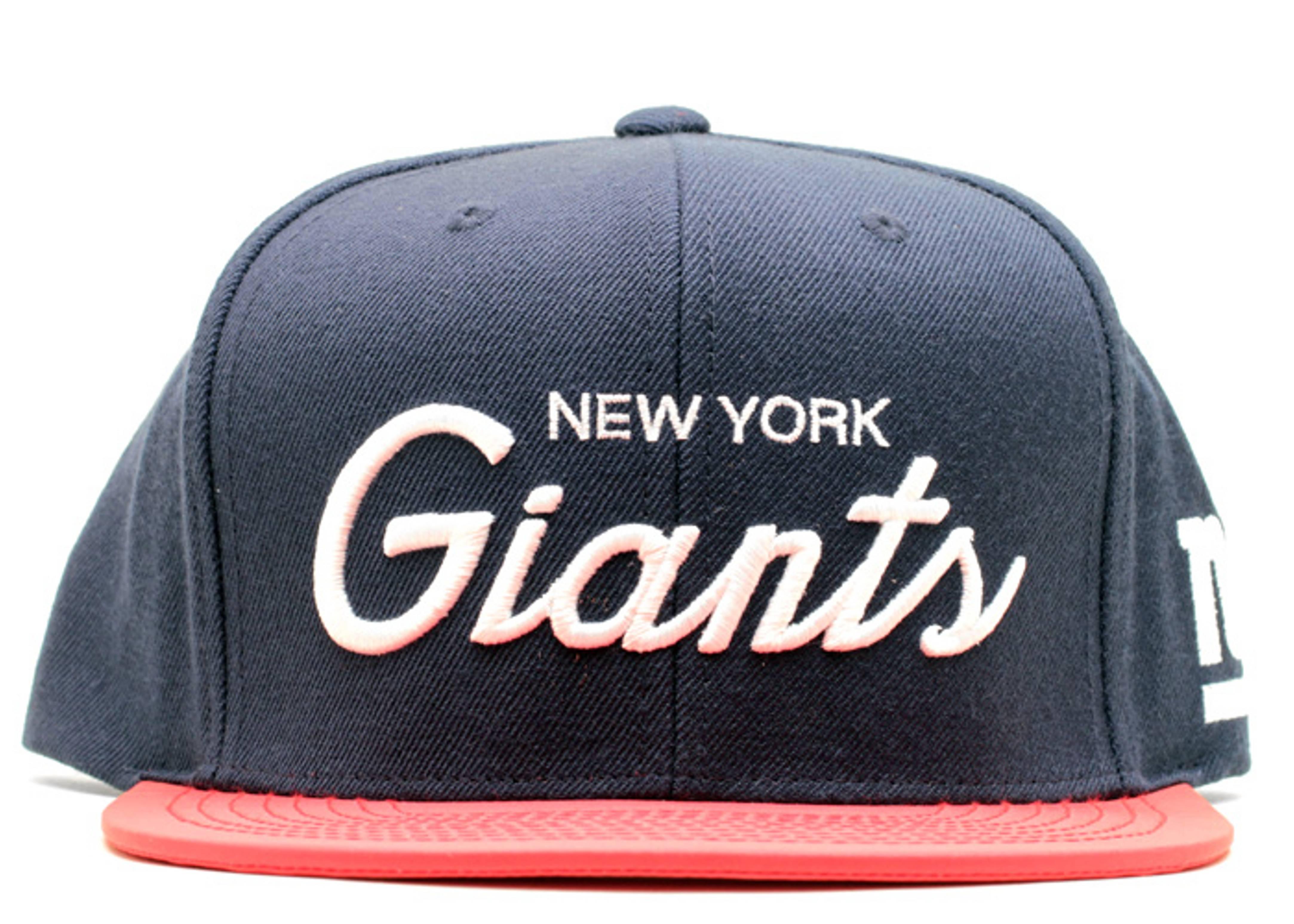 "new york giants snap-back ""3m"""