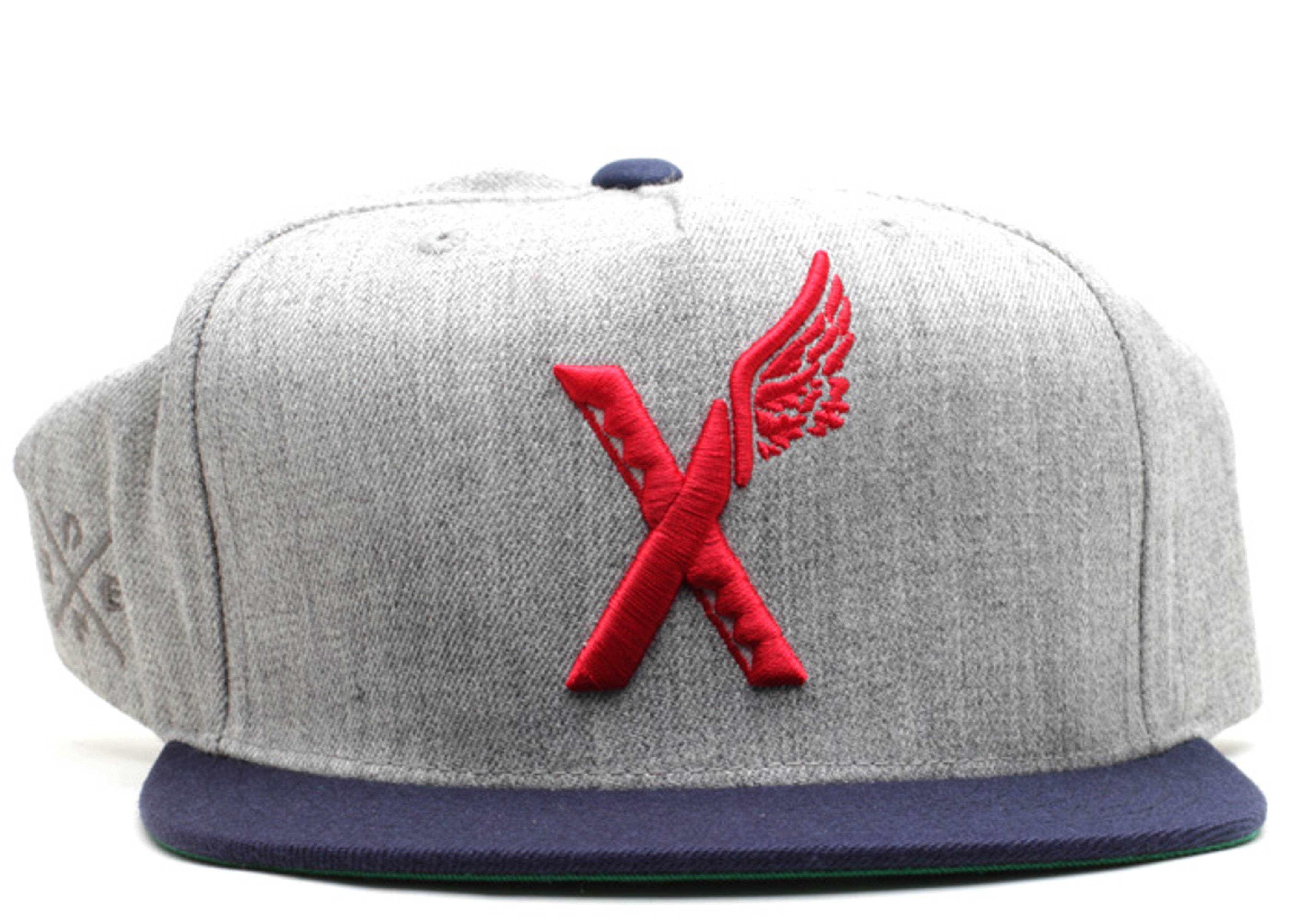 tribal x wing snap-back
