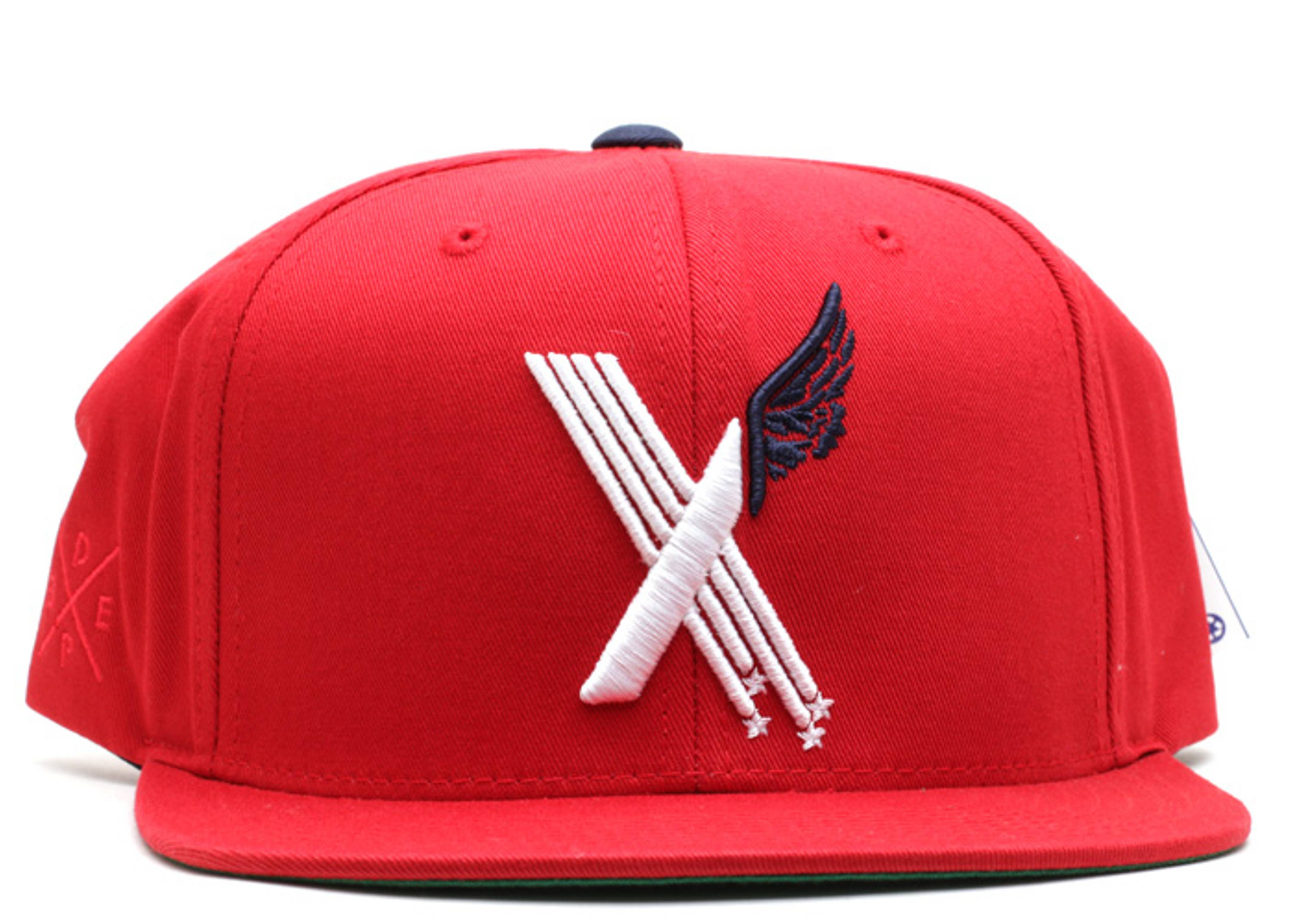 stars x wing snap-back