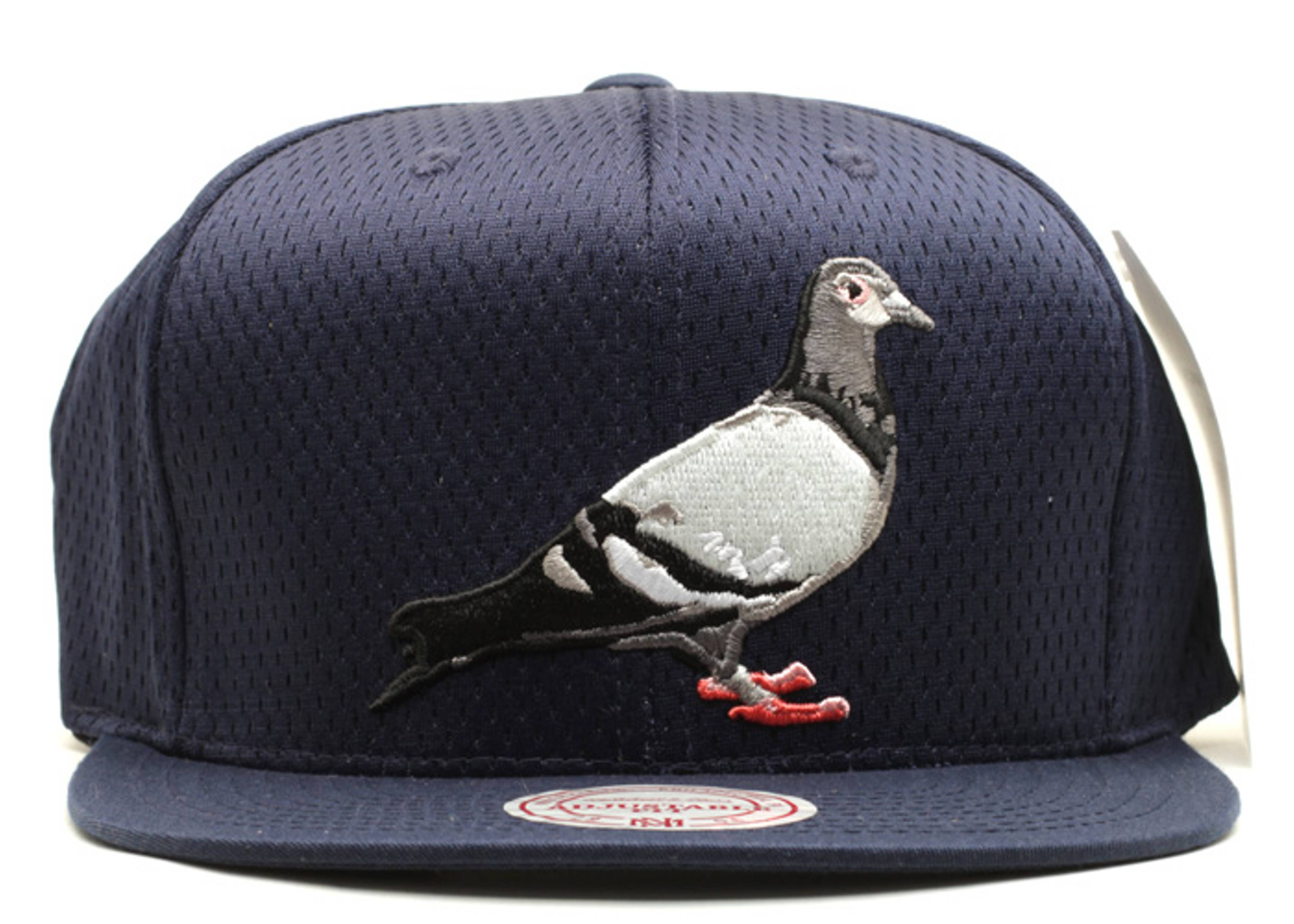 staple pigeon jersey mesh snap-back