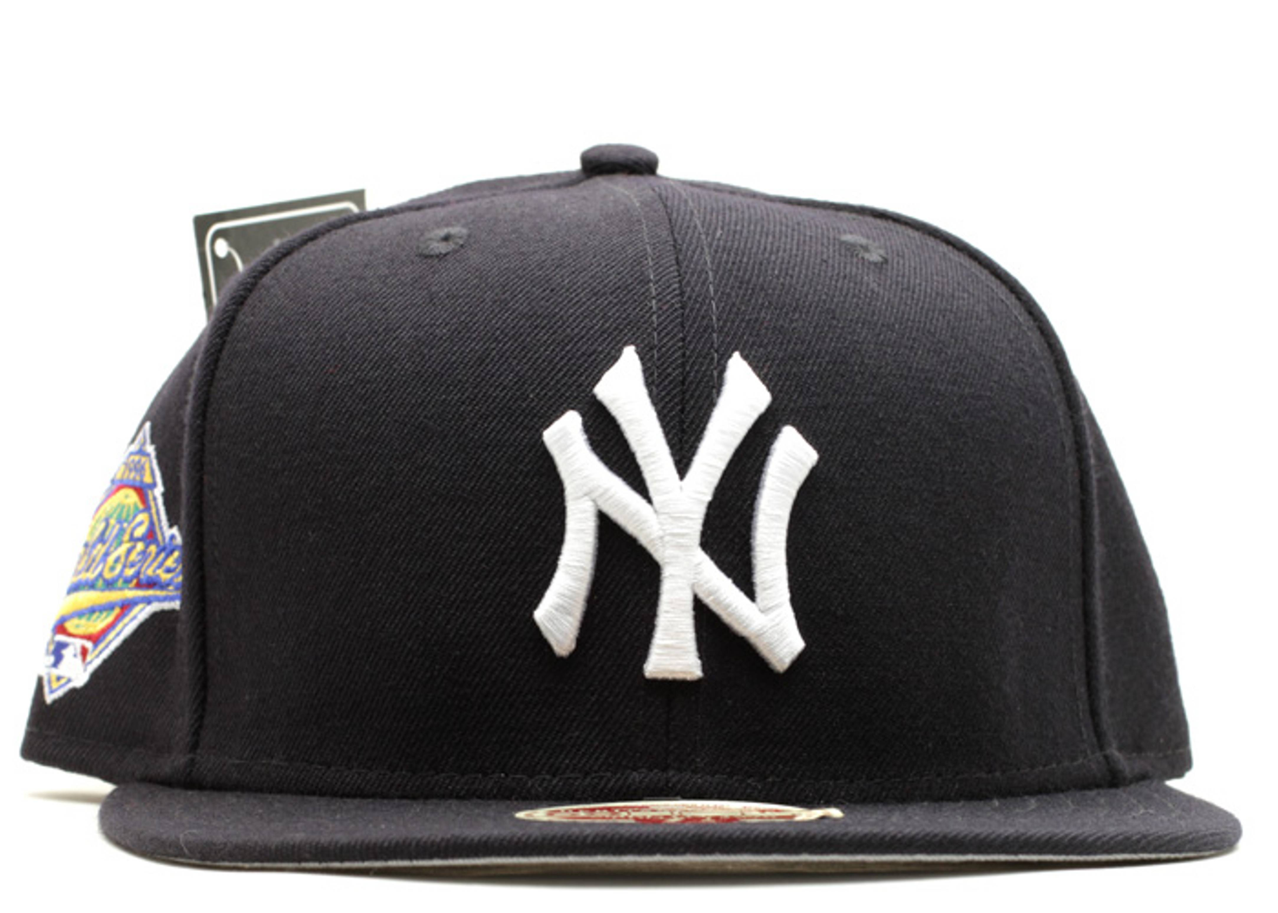 "new york yankees fitted ""spike lee ""1996 world series"""""