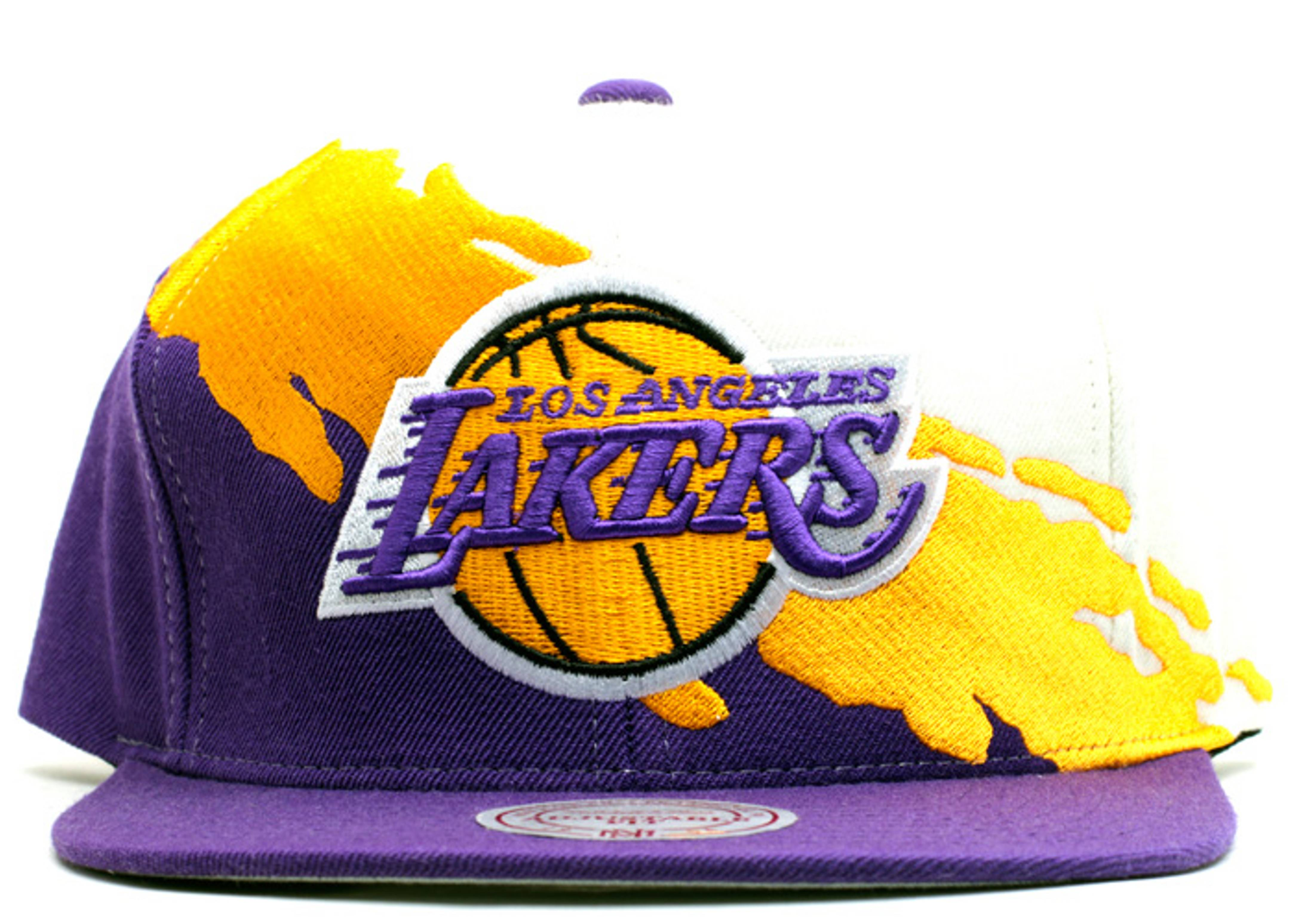 "los angeles lakers snap-back ""paintbrush"""