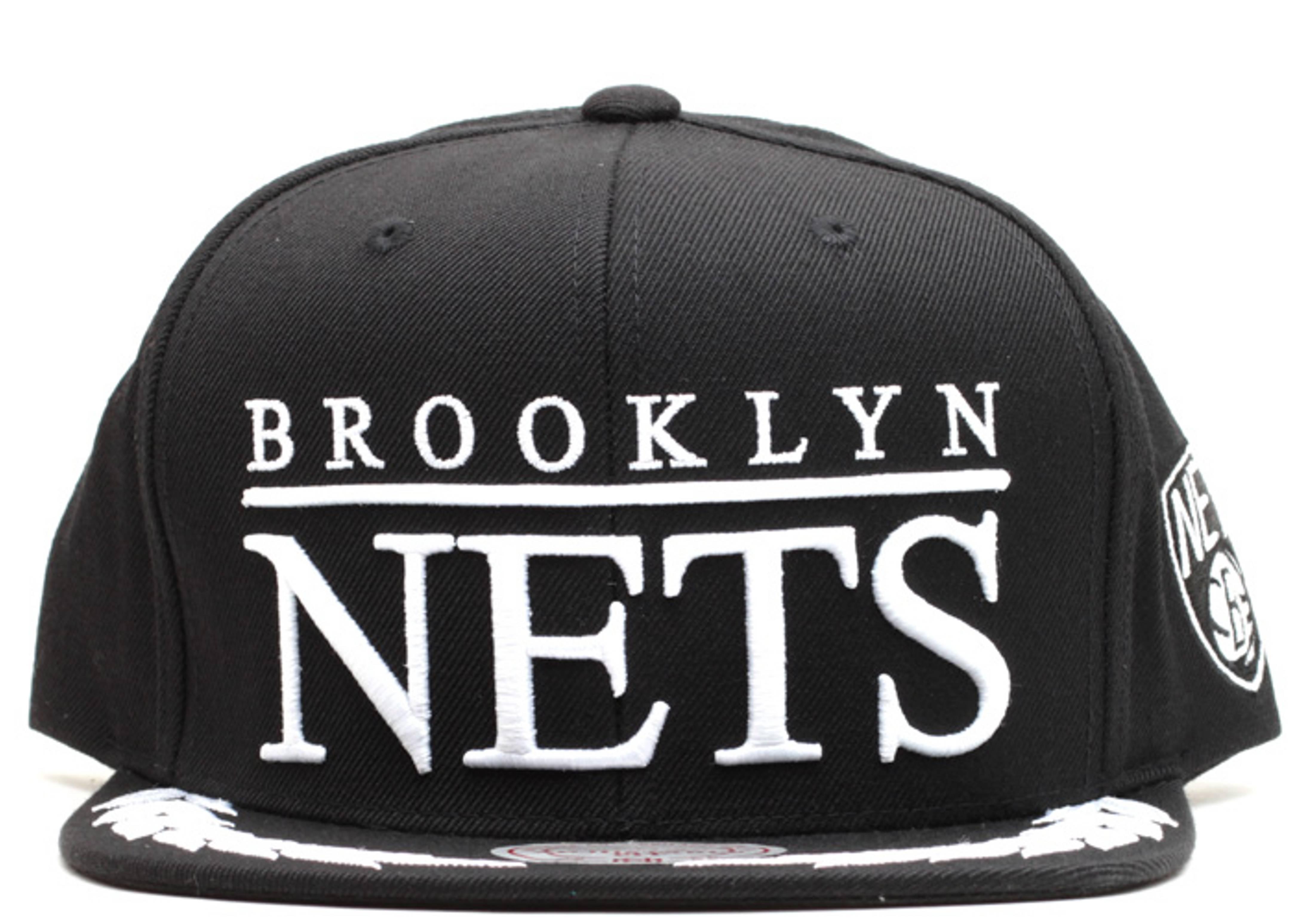 "brooklyn nets snap-back ""laurel wreath"""