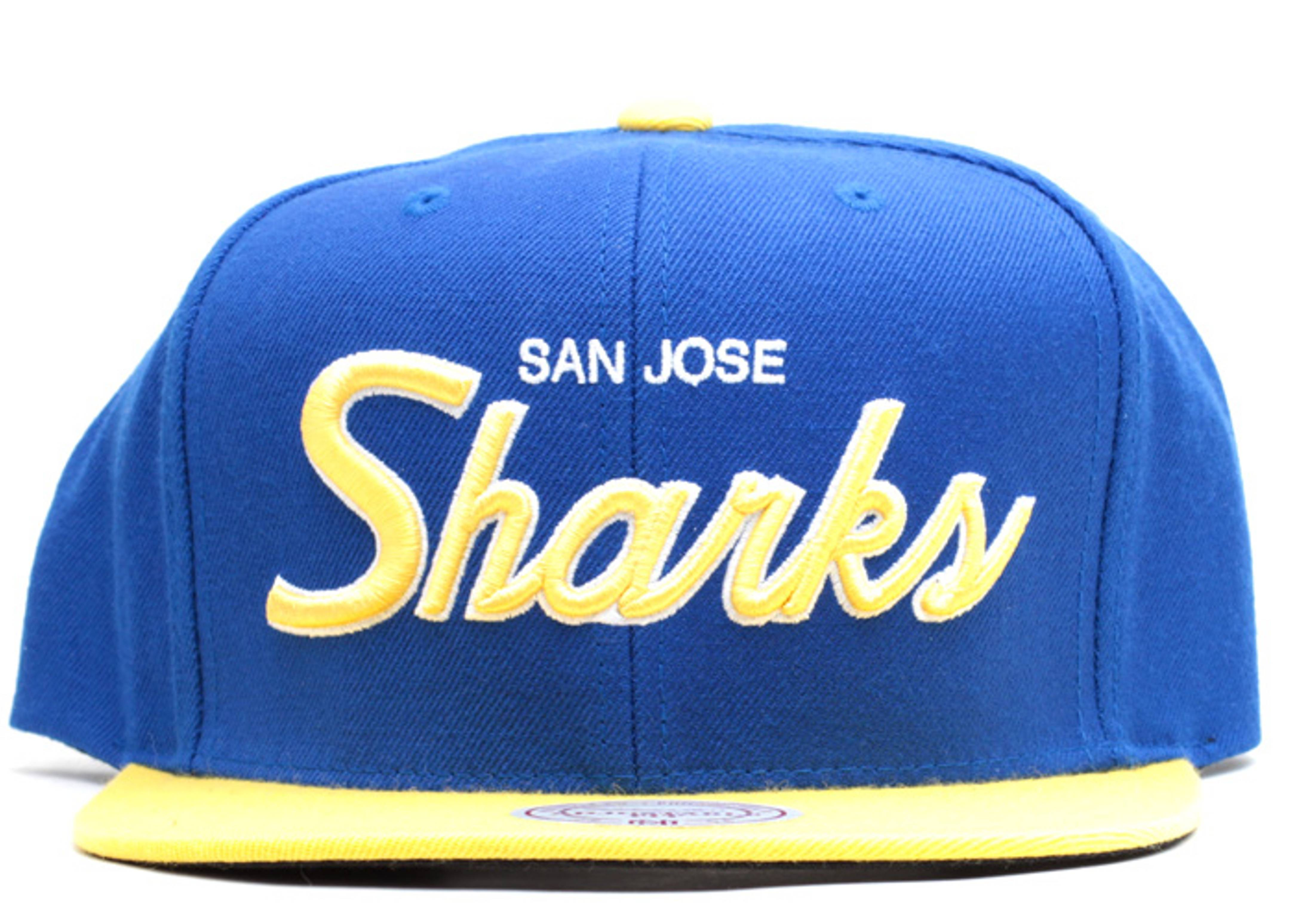 "san jose sharks snap-back ""laney"""