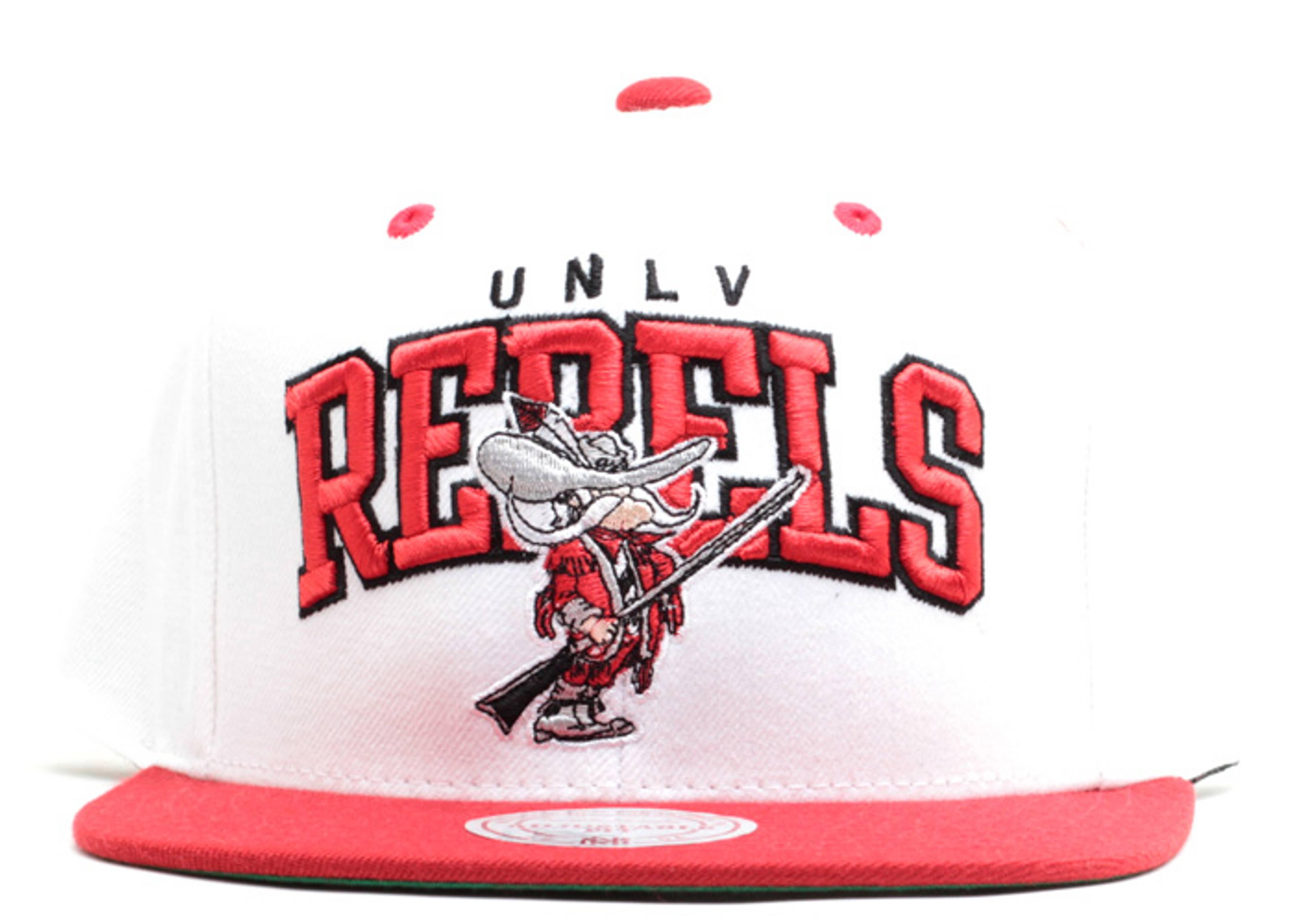 unlv rebels snap-back white/red-blk