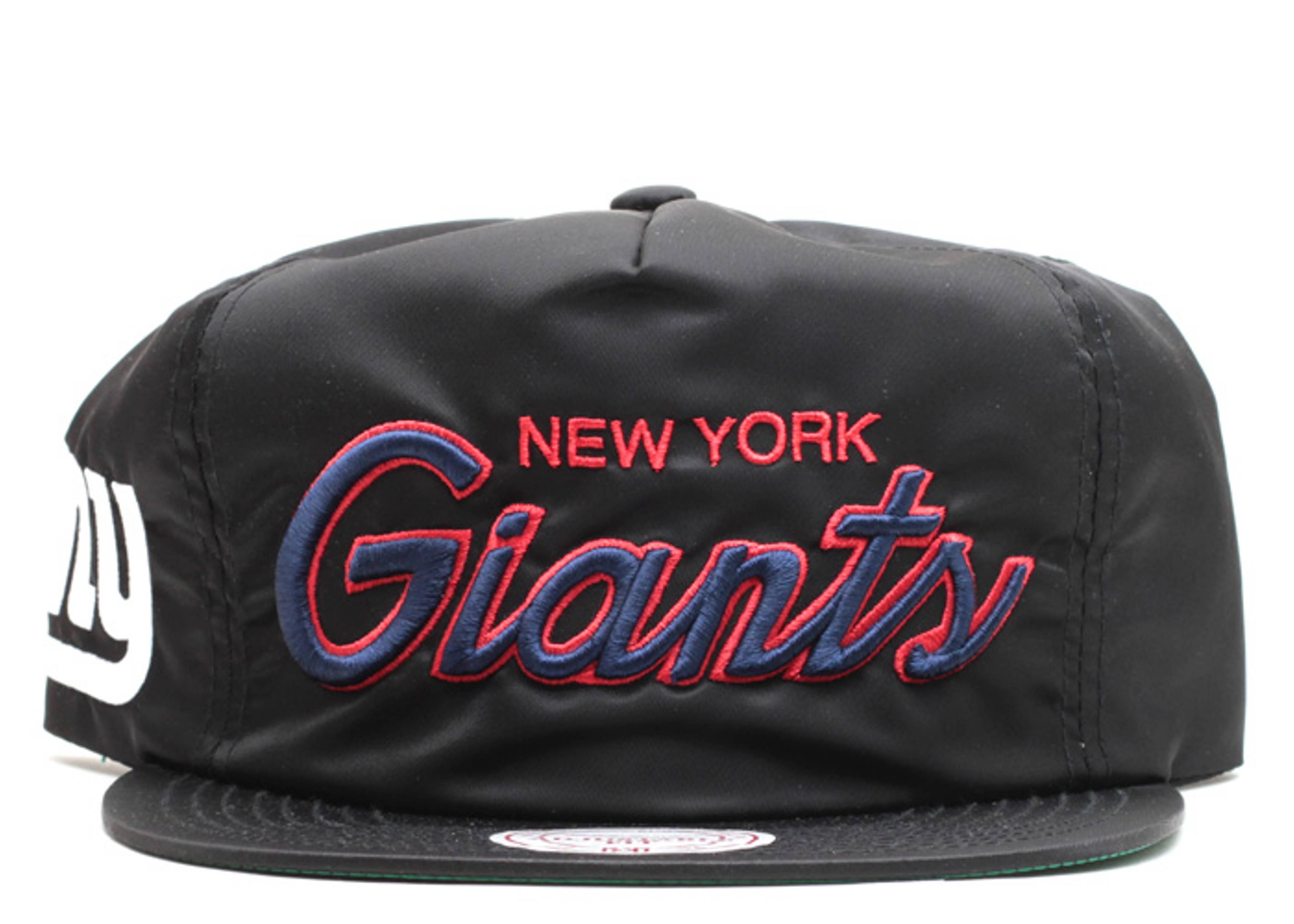 "new york giants zip-back ""nylon"""