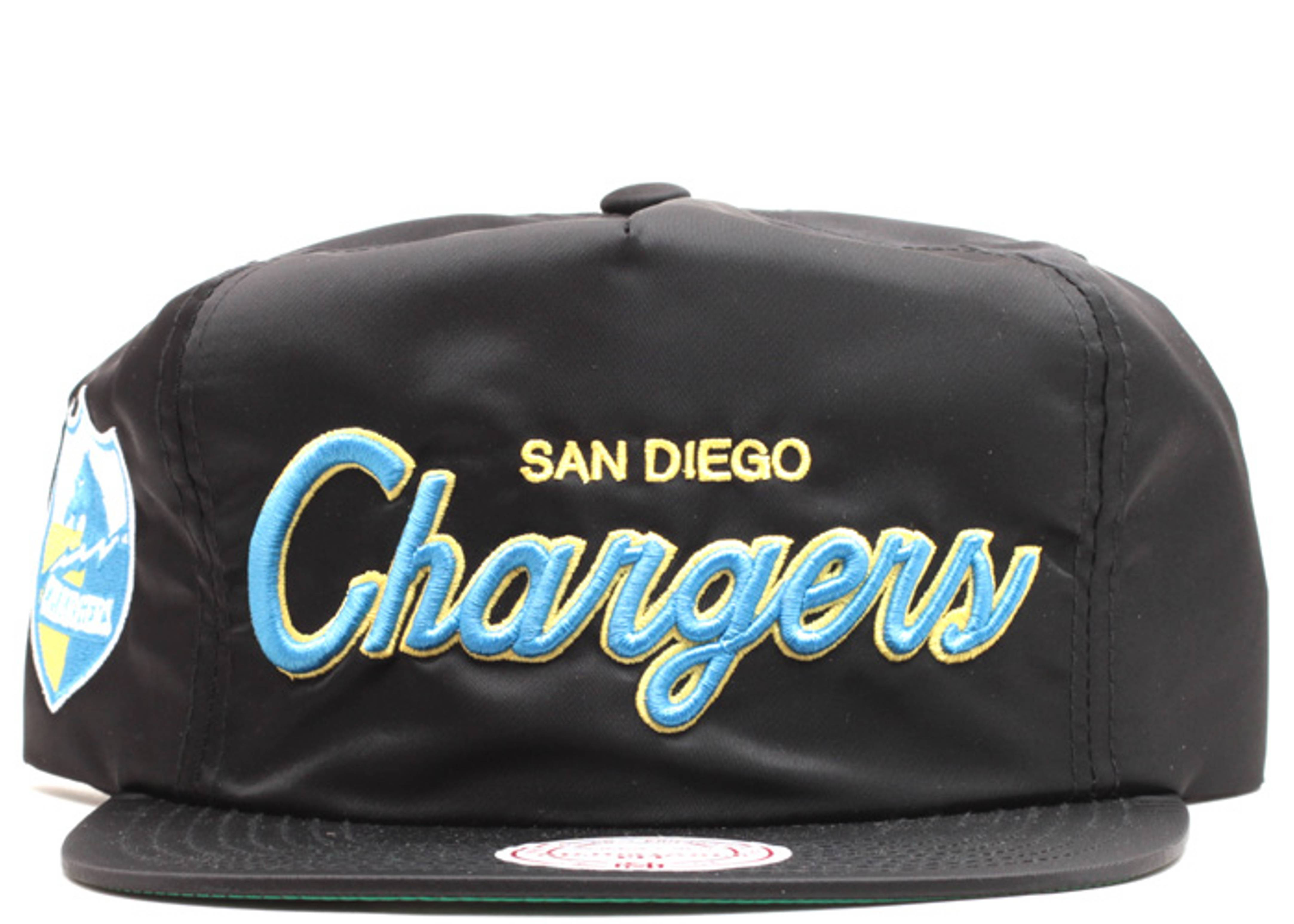 "san diego chargers zip-back ""nylon"""
