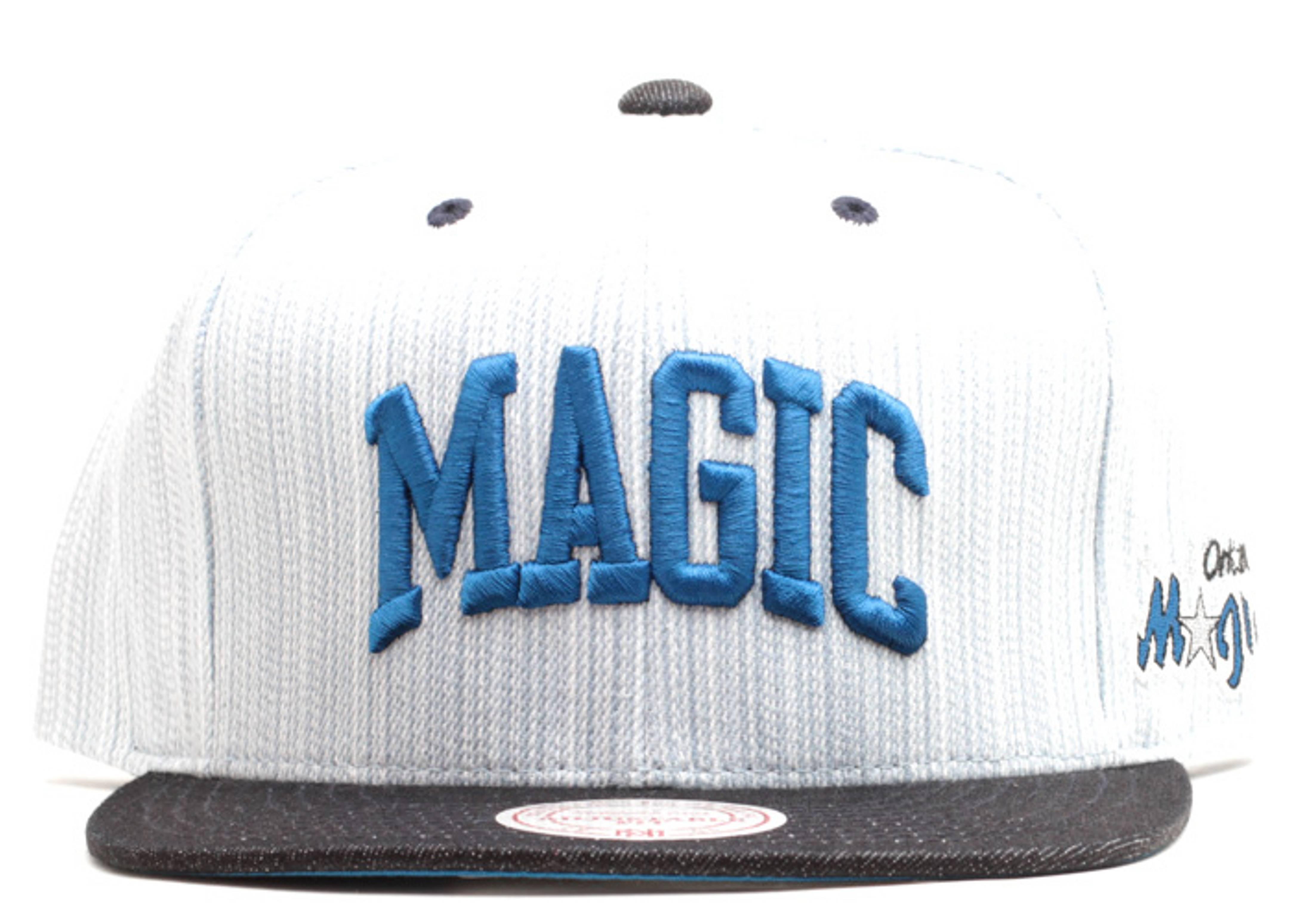 "orlando magic snap-back ""denim"""