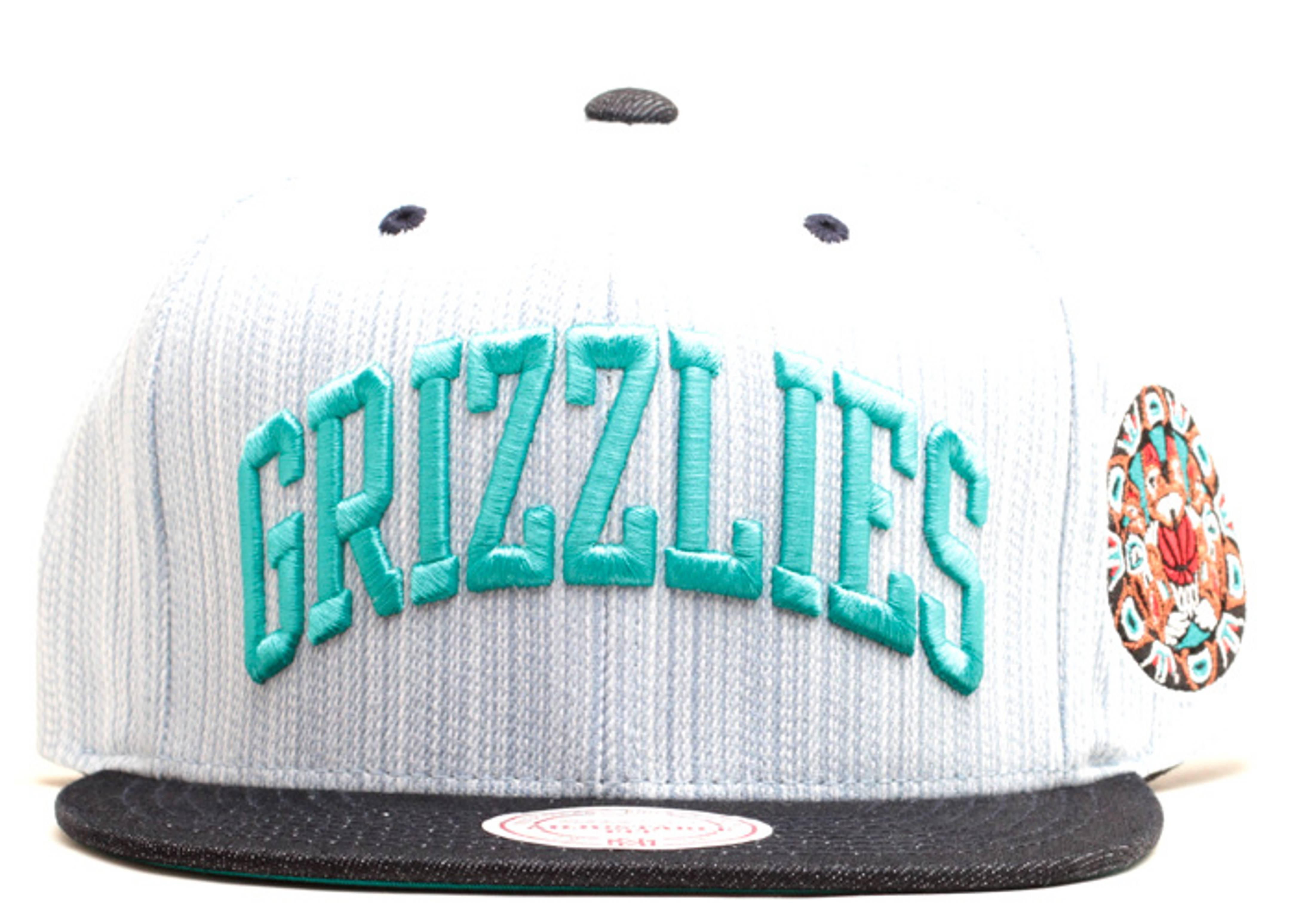 """vancouver grizzlies snap-back """"denim"""""""