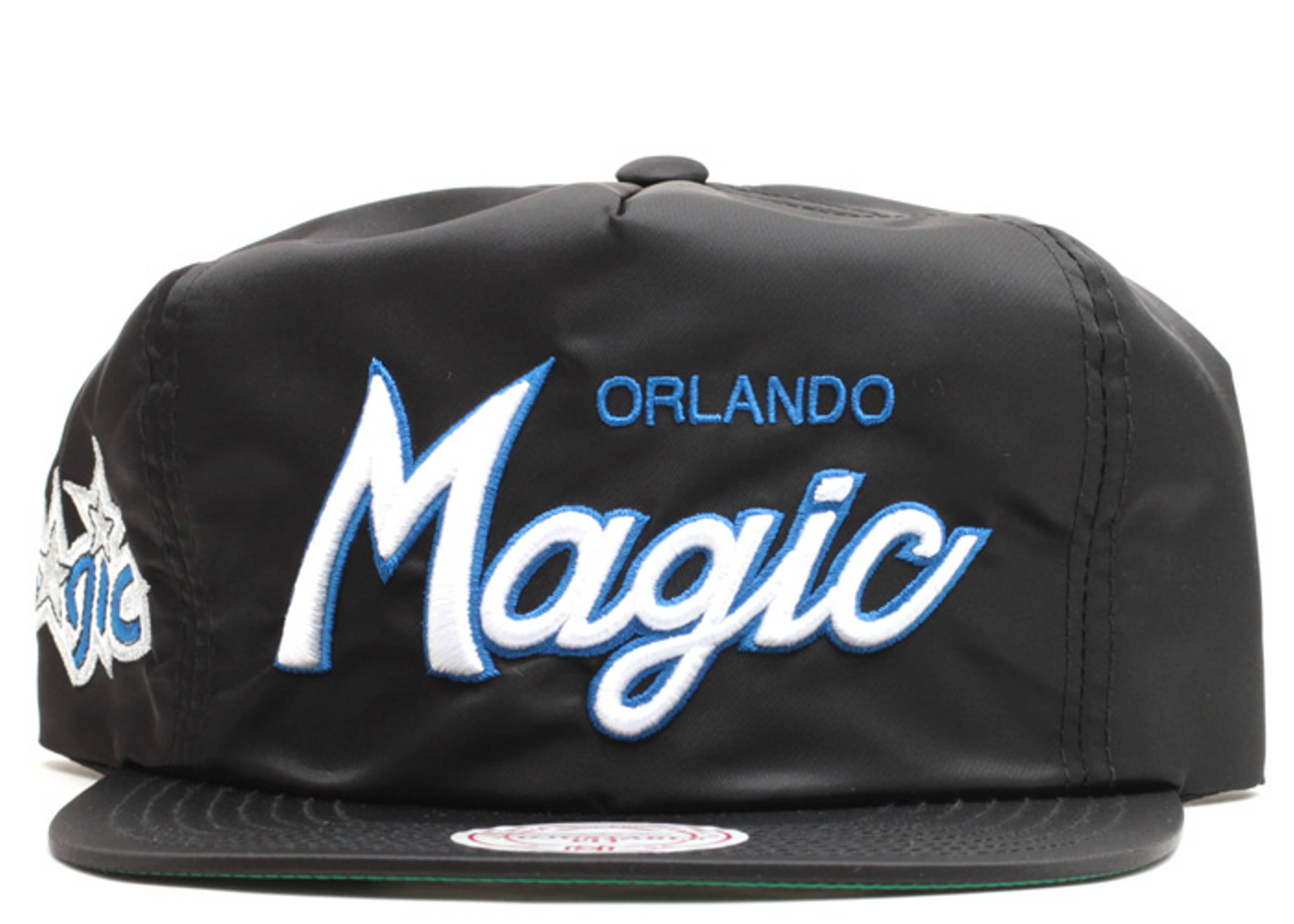 "orlando magic zip-back ""nylon"""