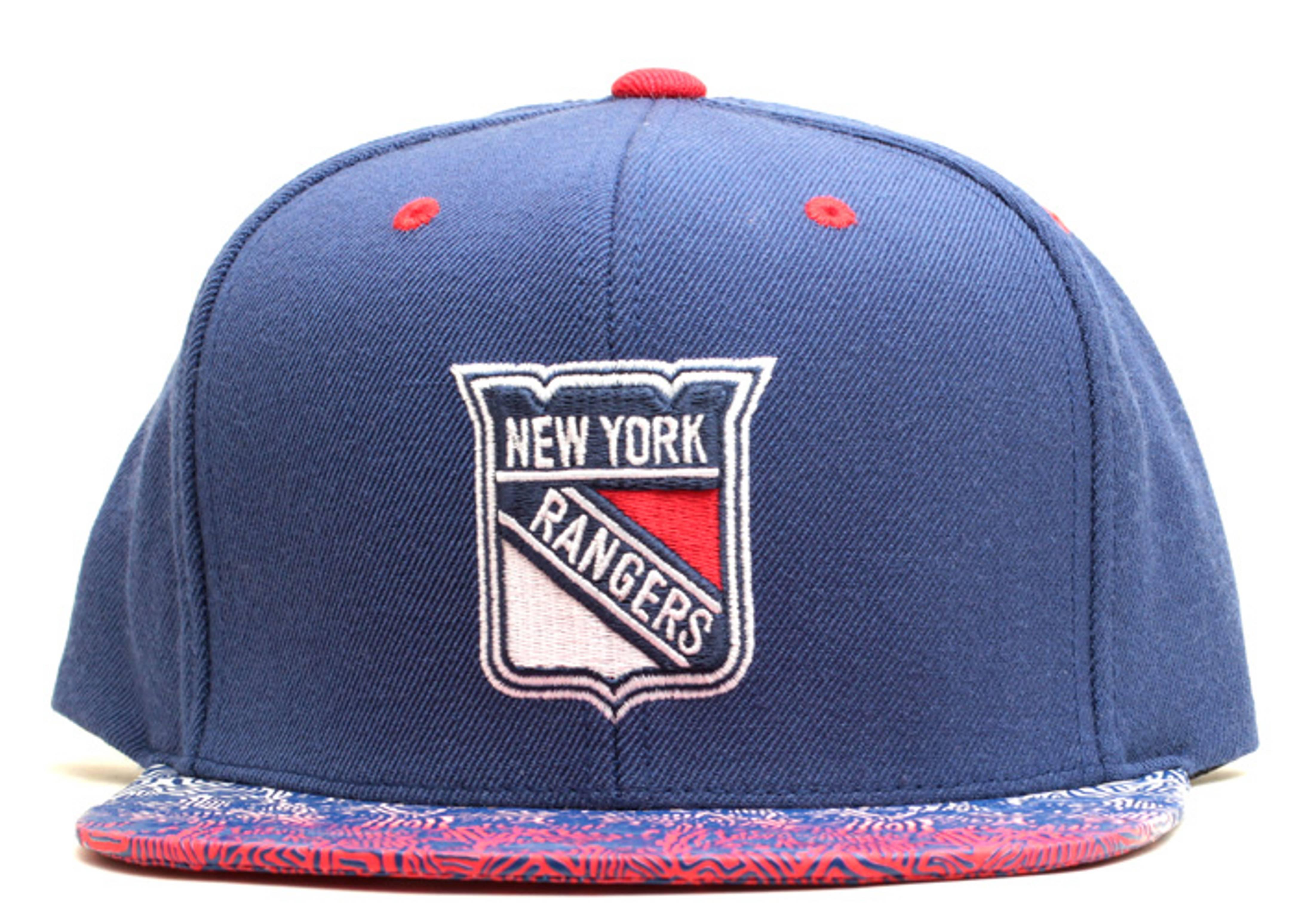 "new york rangers snap-back ""court vision"""