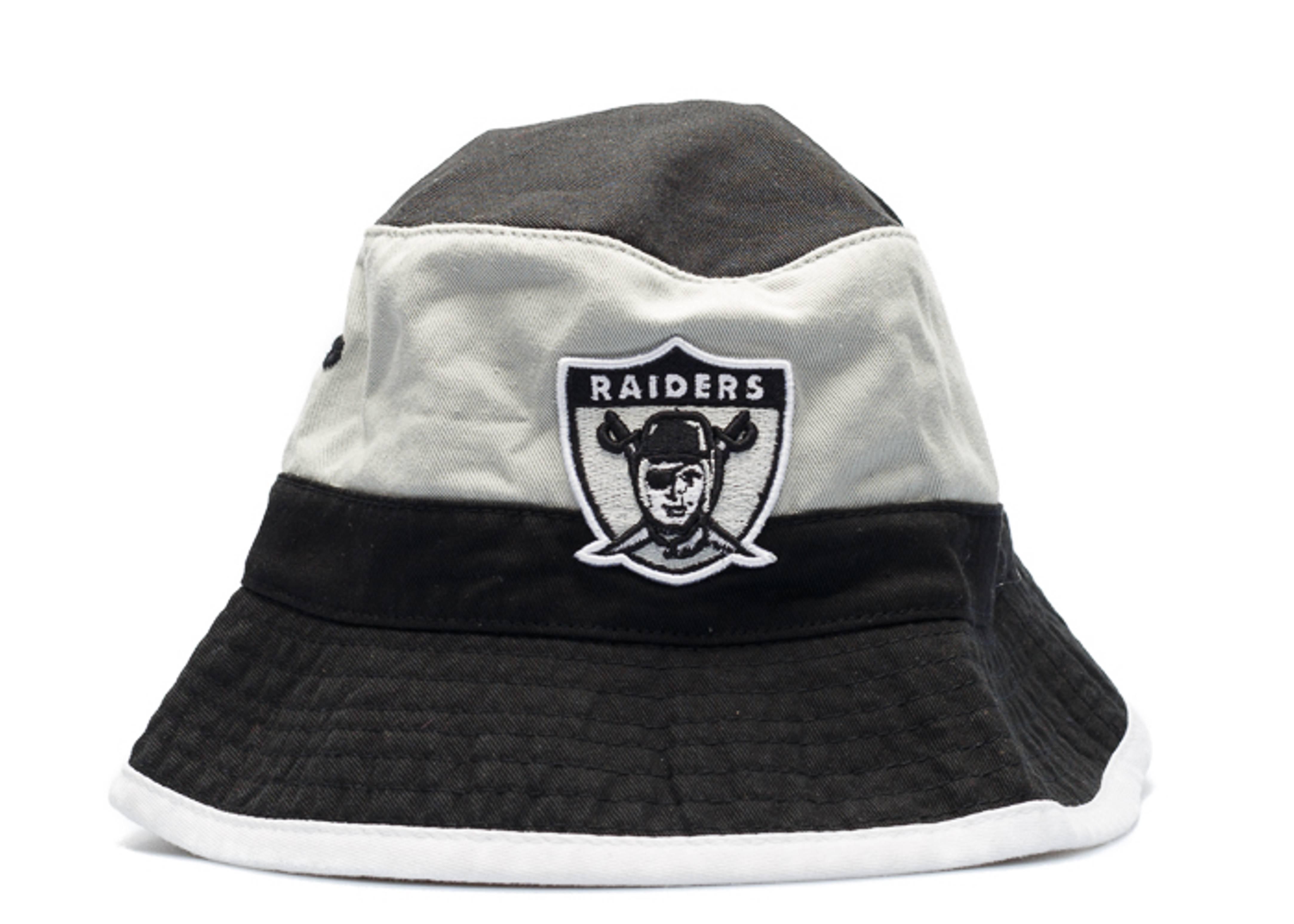 oakland raiders bucket hat