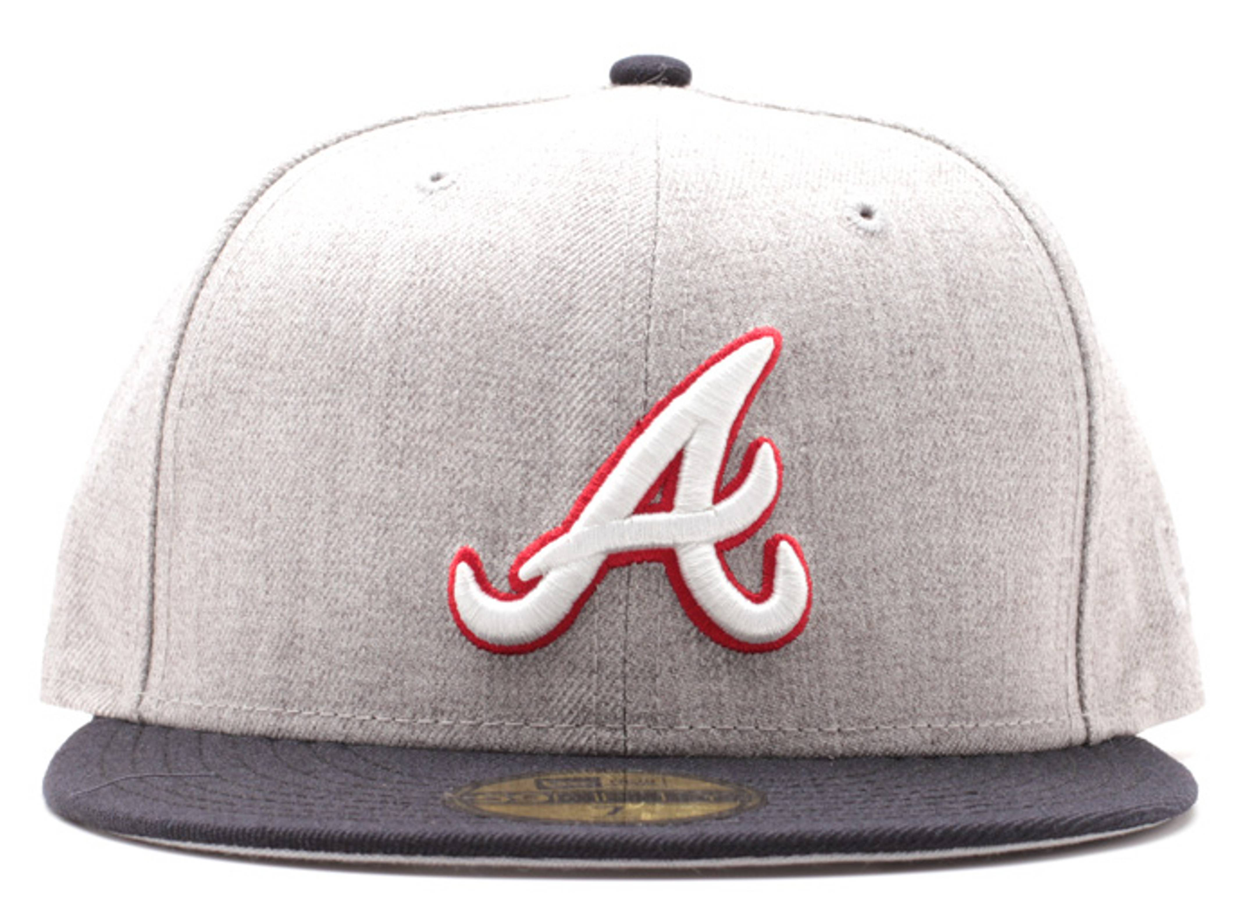 atlanta braves fitted