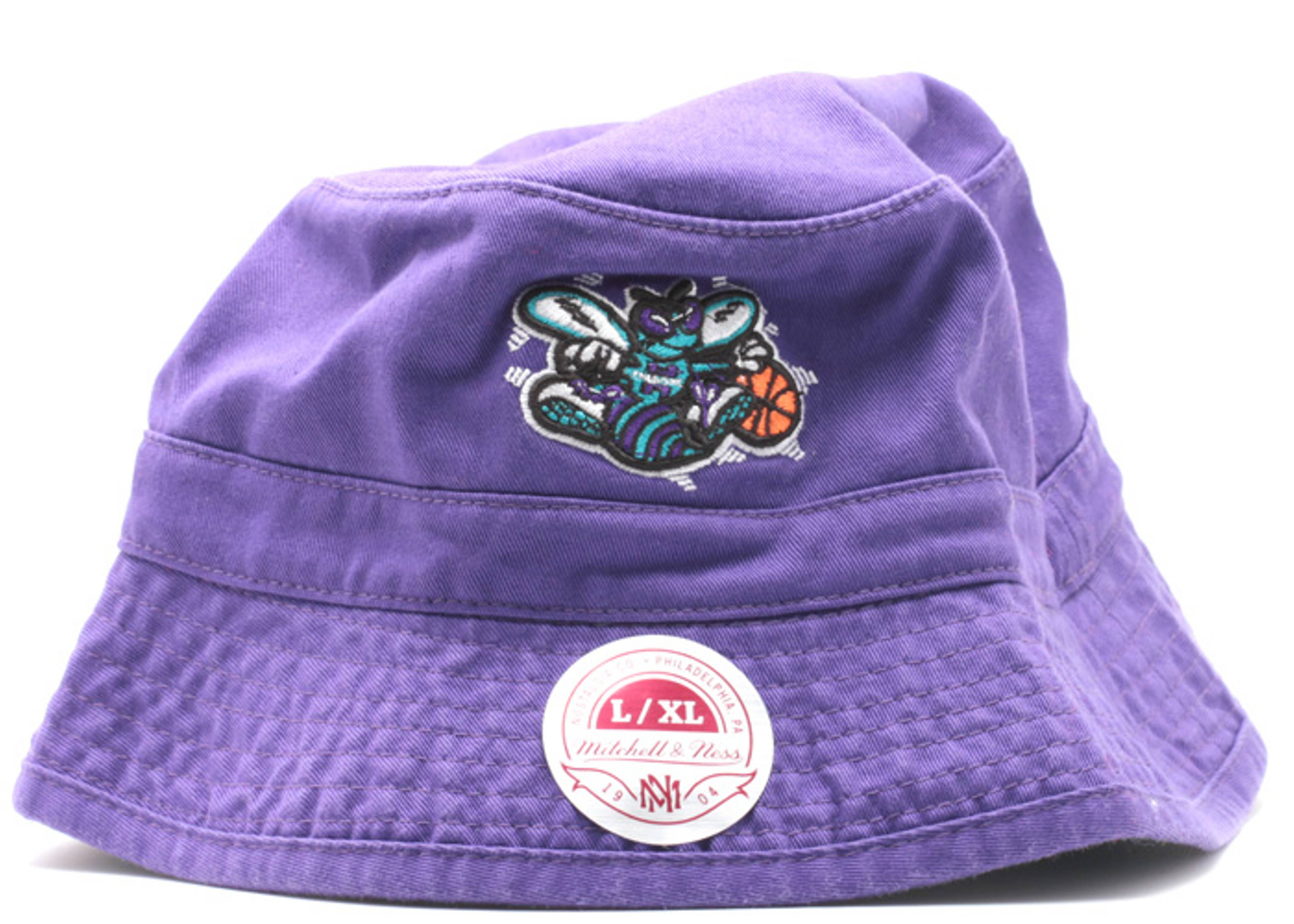 charolette hornets bucket hat