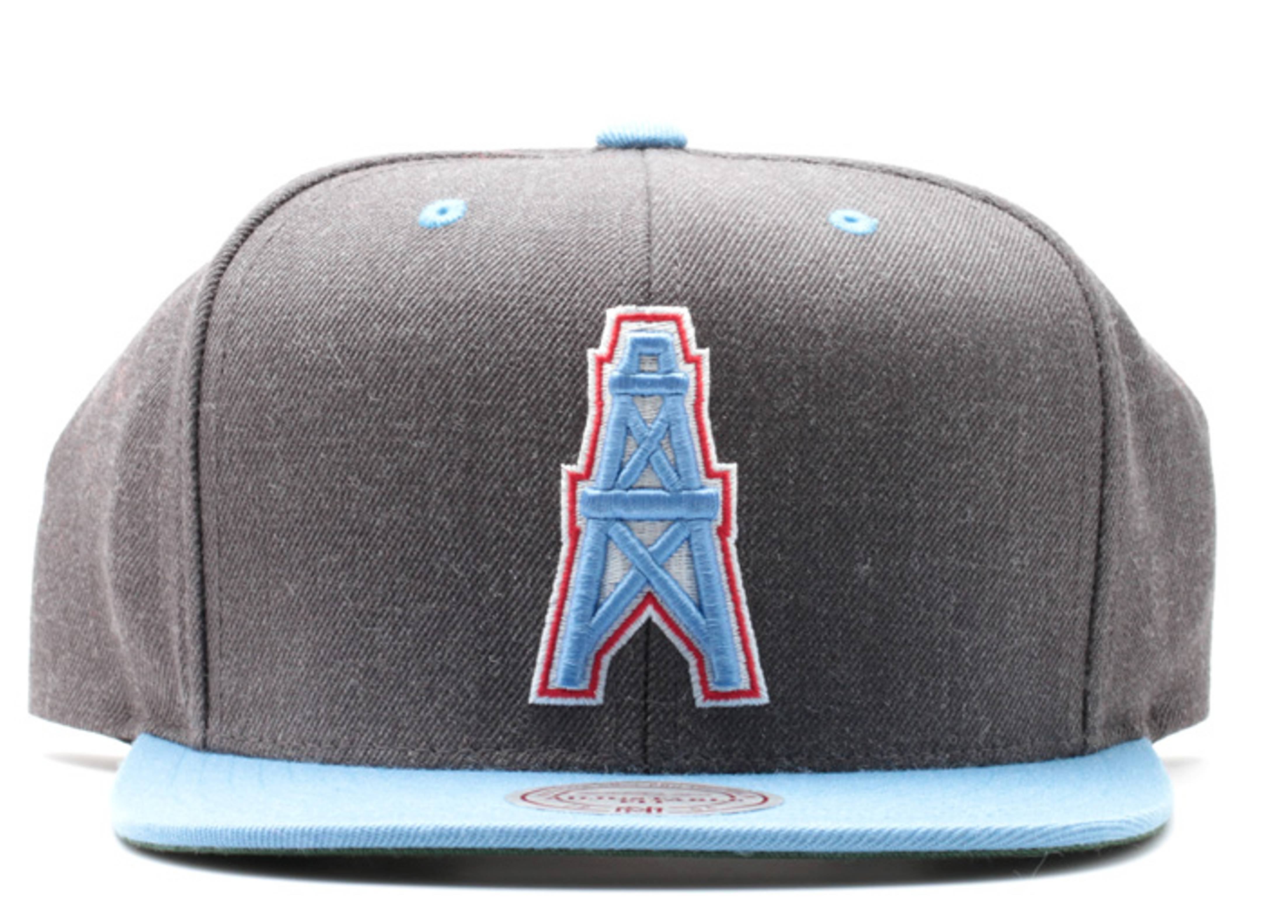654f0bcfb Houston Oilers Snap-back - Mitchell & Ness - vd36gte6oiler - dark ...