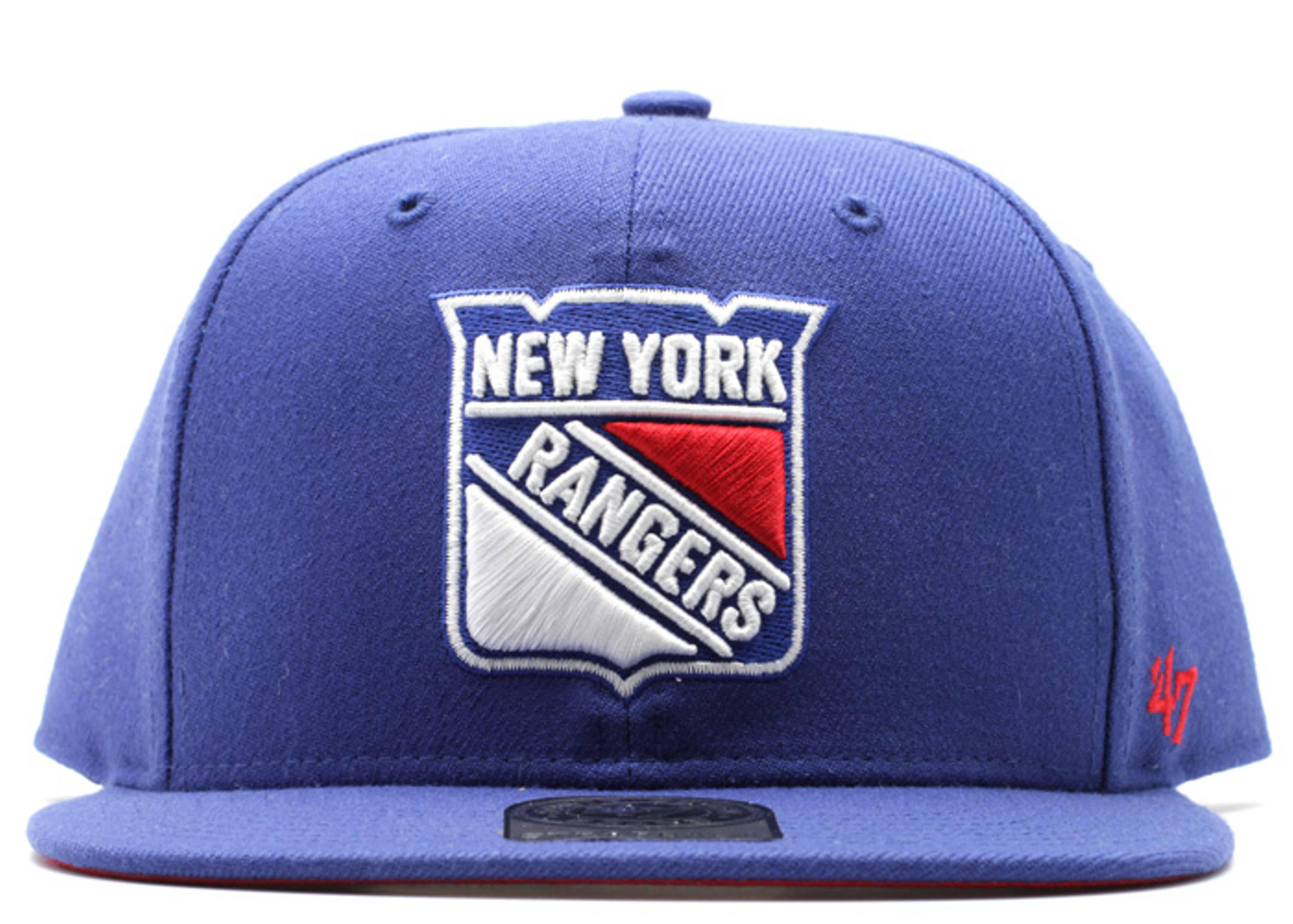 new york rangers strap-back