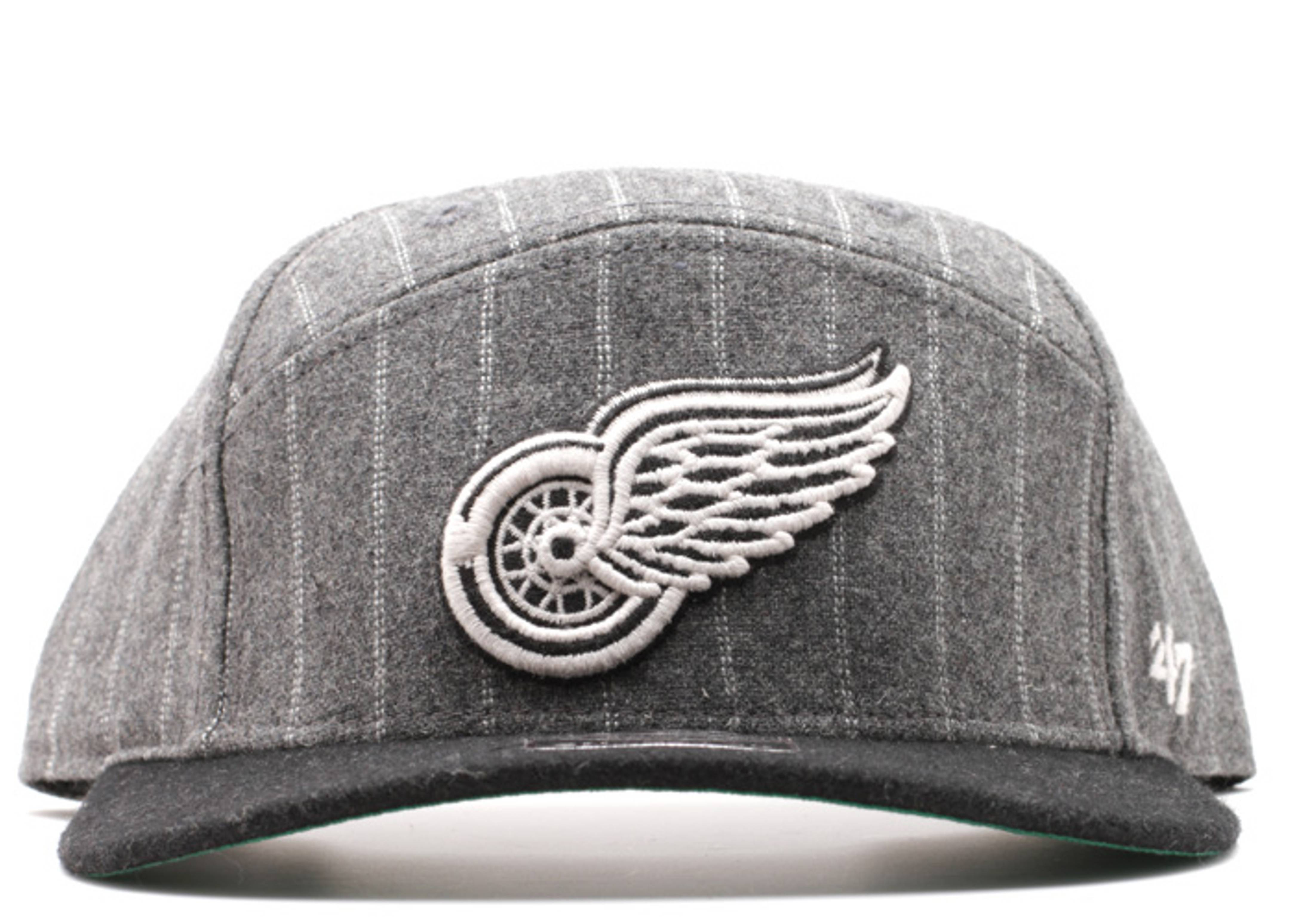 detriot redwings 5 panel snap-back