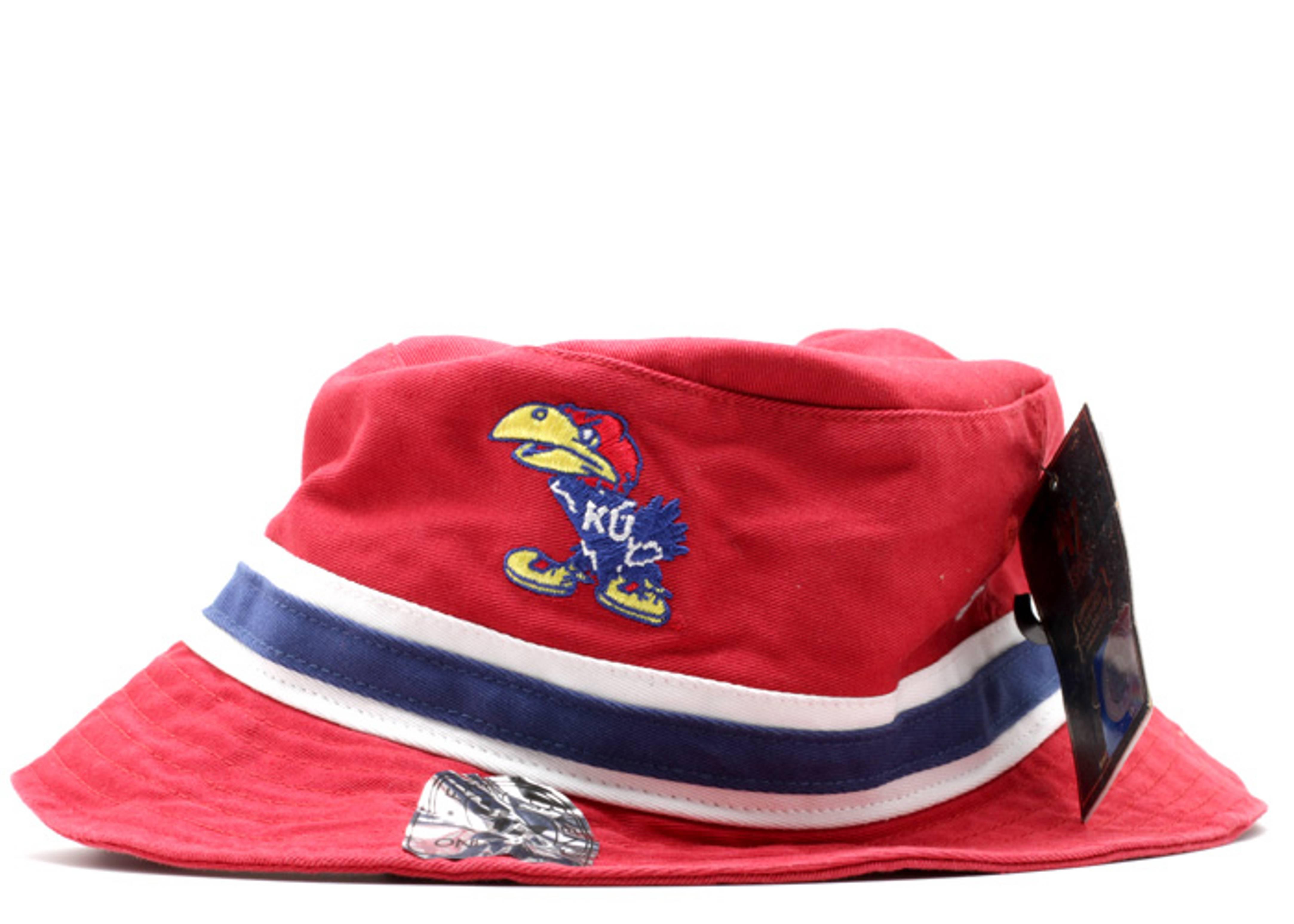 kanas jawhawks bucket hat
