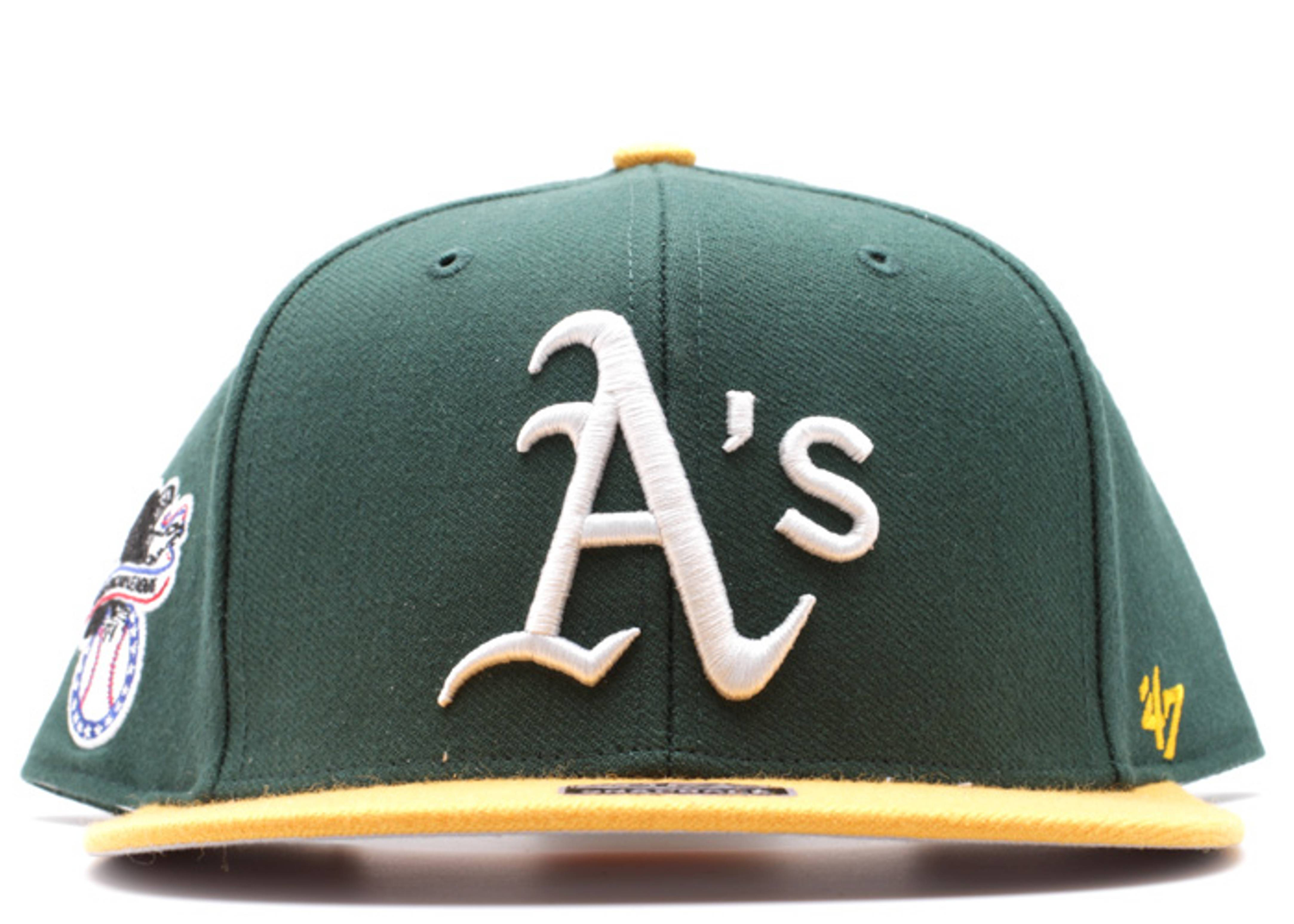 """oakland as snap-back """"american league side patch"""""""