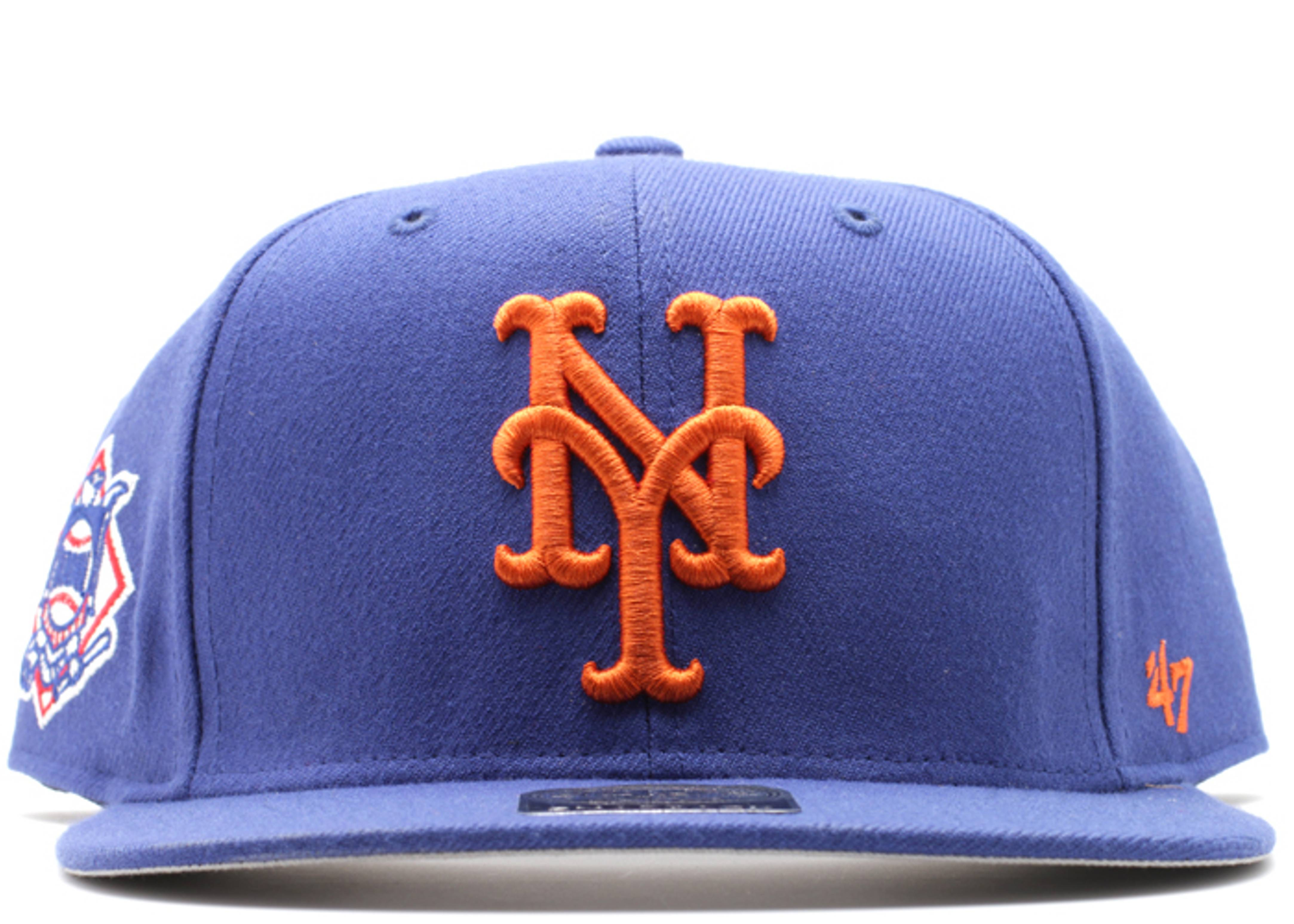 """new york mets snap-back """"national league side patch"""""""