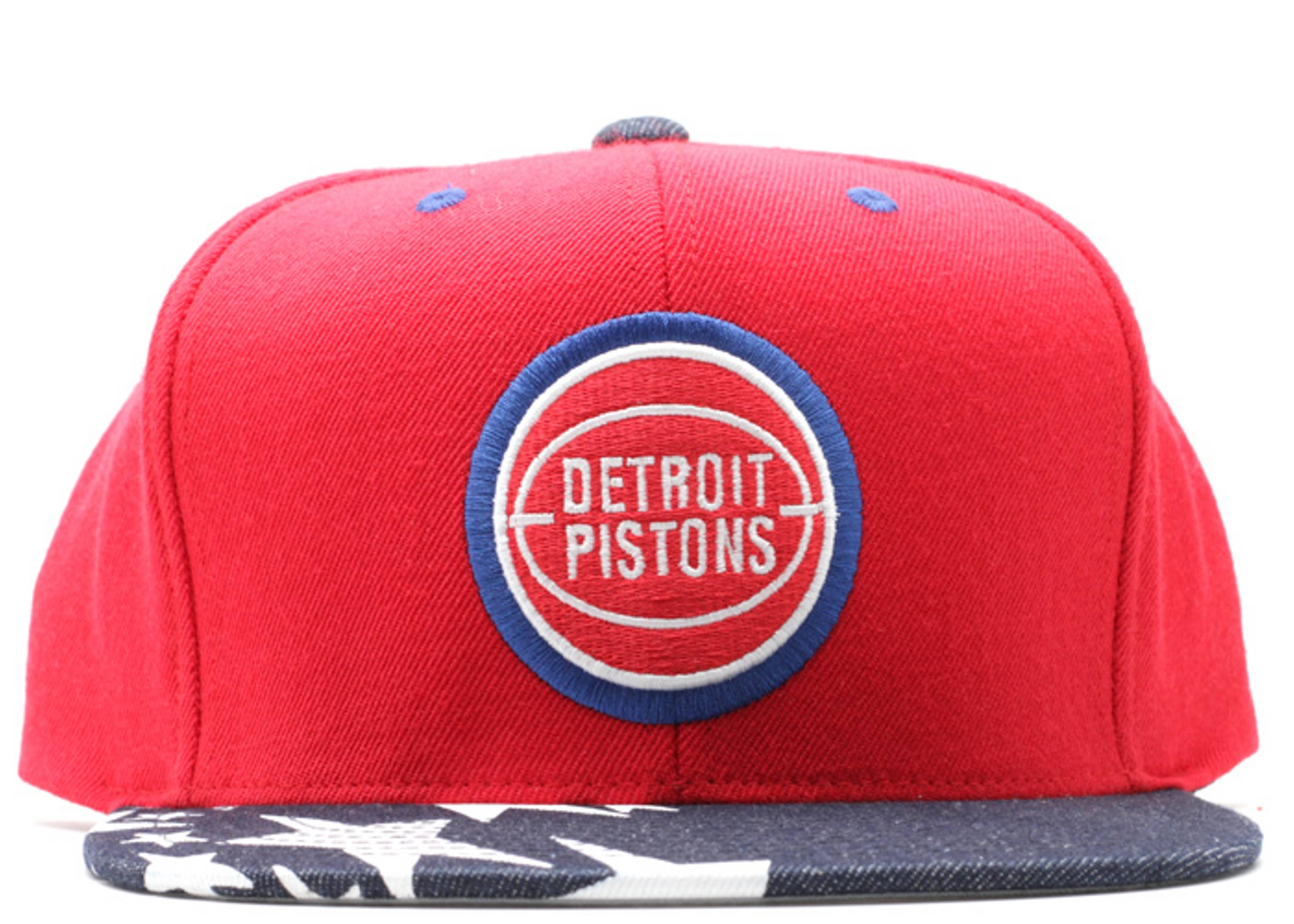 """detroit pistons snap-back """"stars"""""""