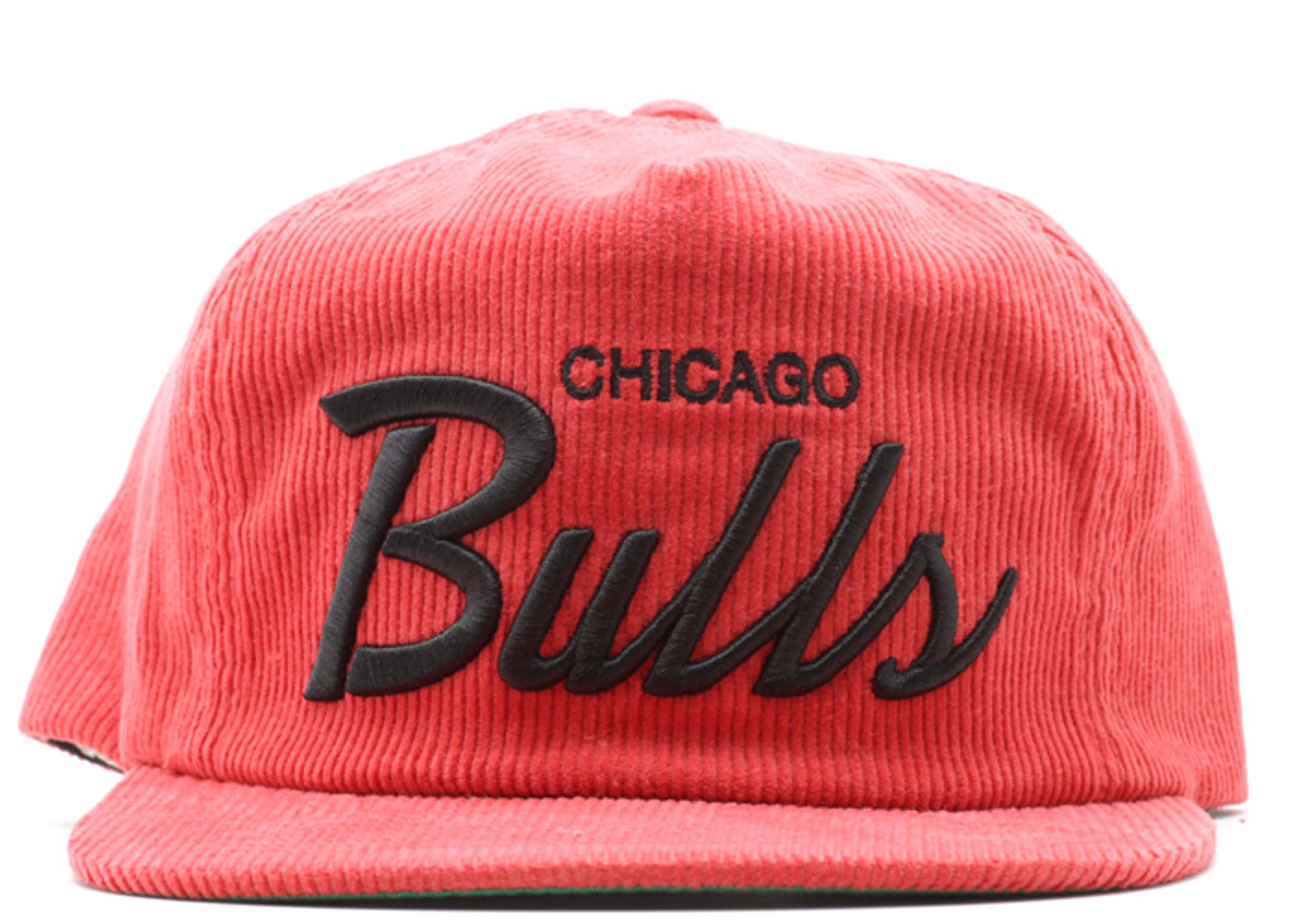 chicago bulls cord zip-back