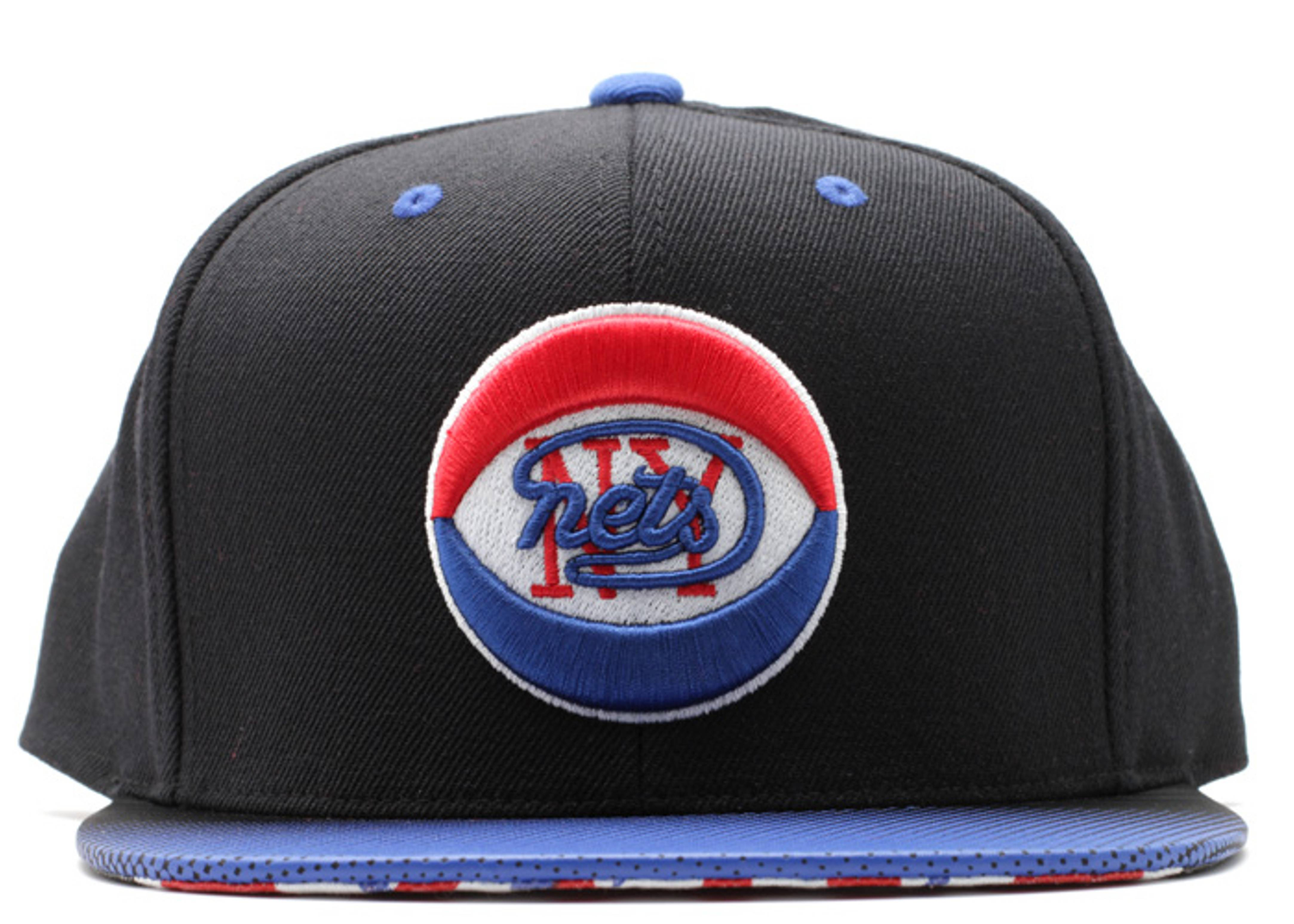 "new york nets snap-back ""stop on a dime"""