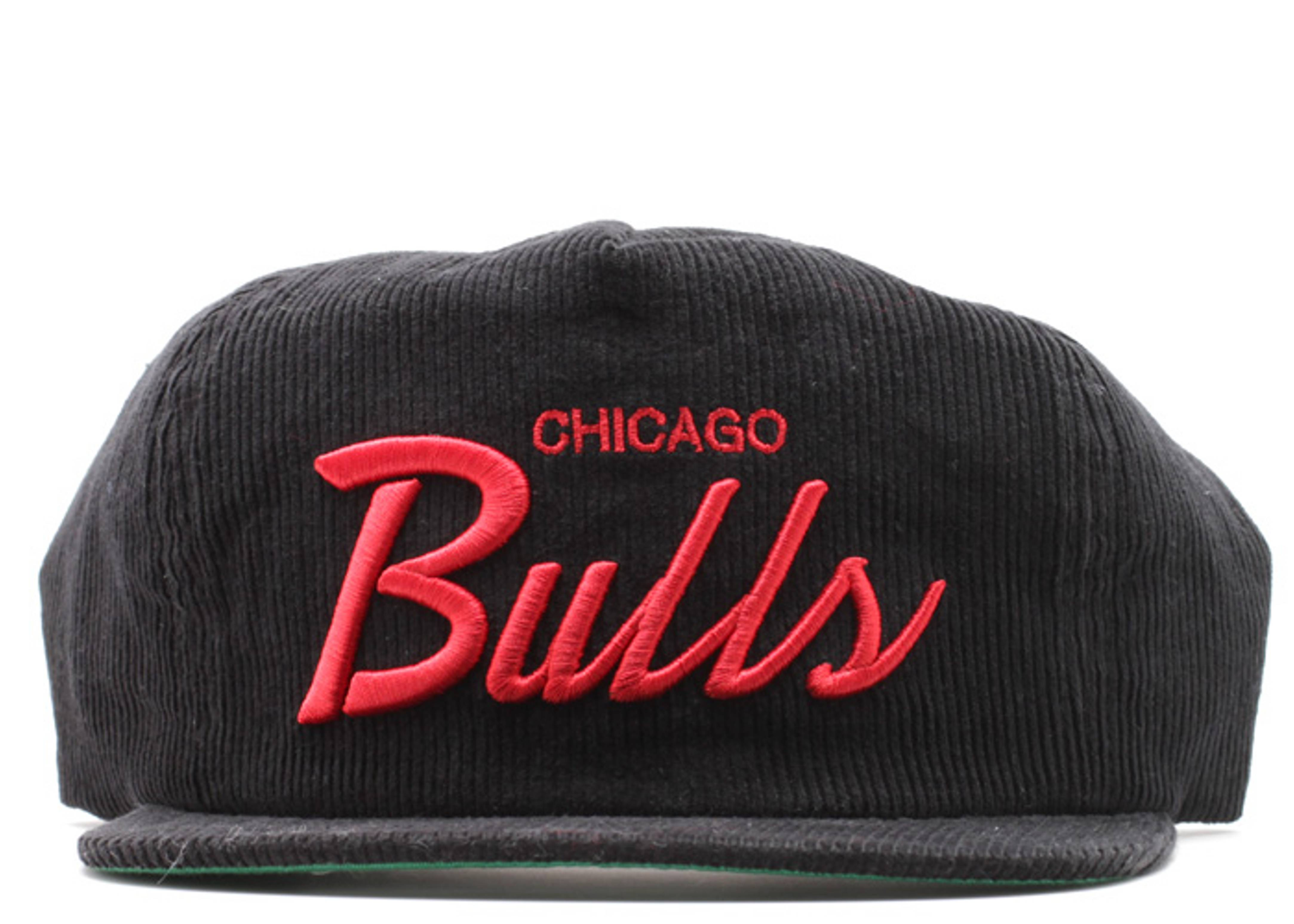 chicago bulls corduroy zip-back