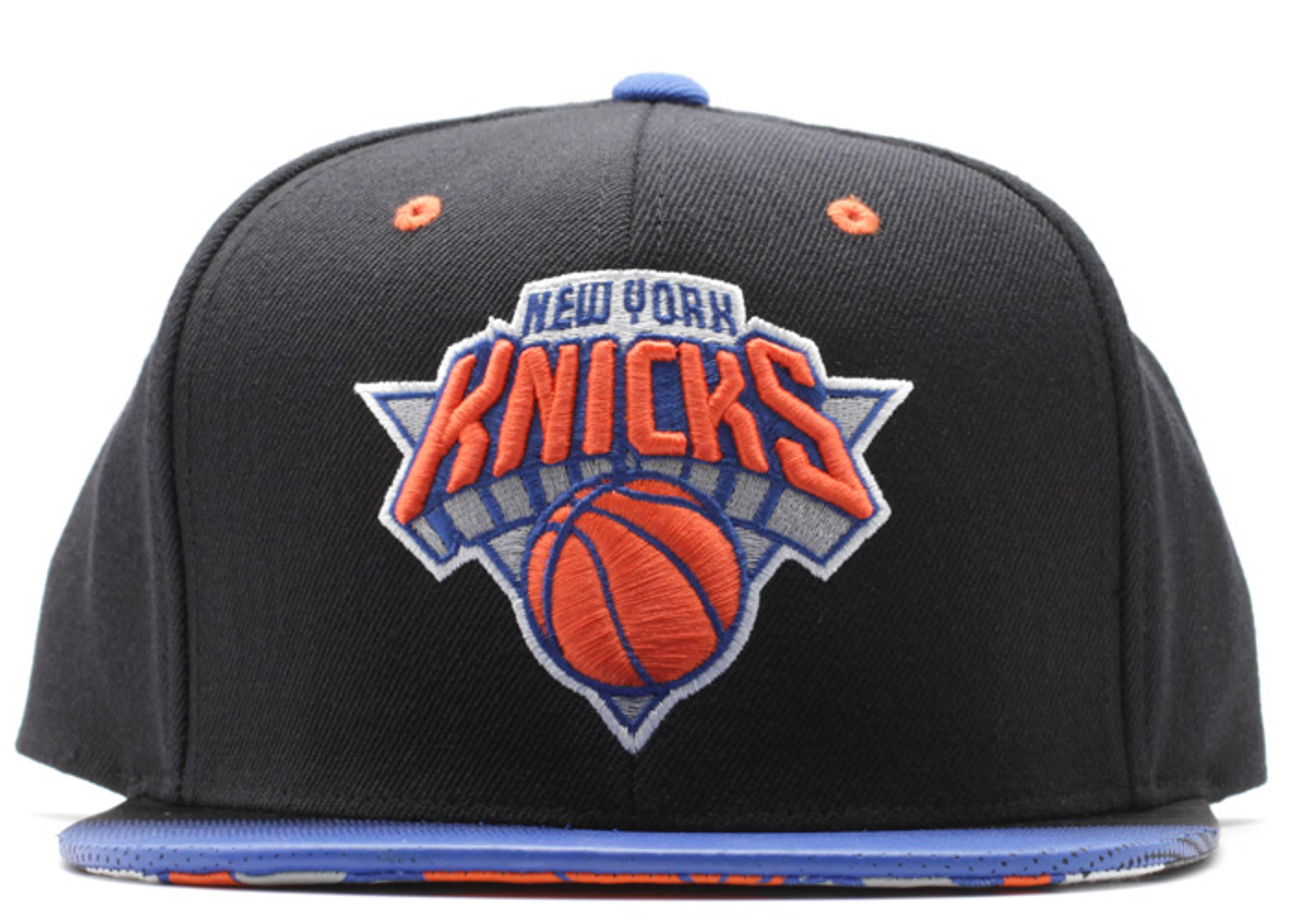 "new york knicks snap-back ""stop on a dime"""