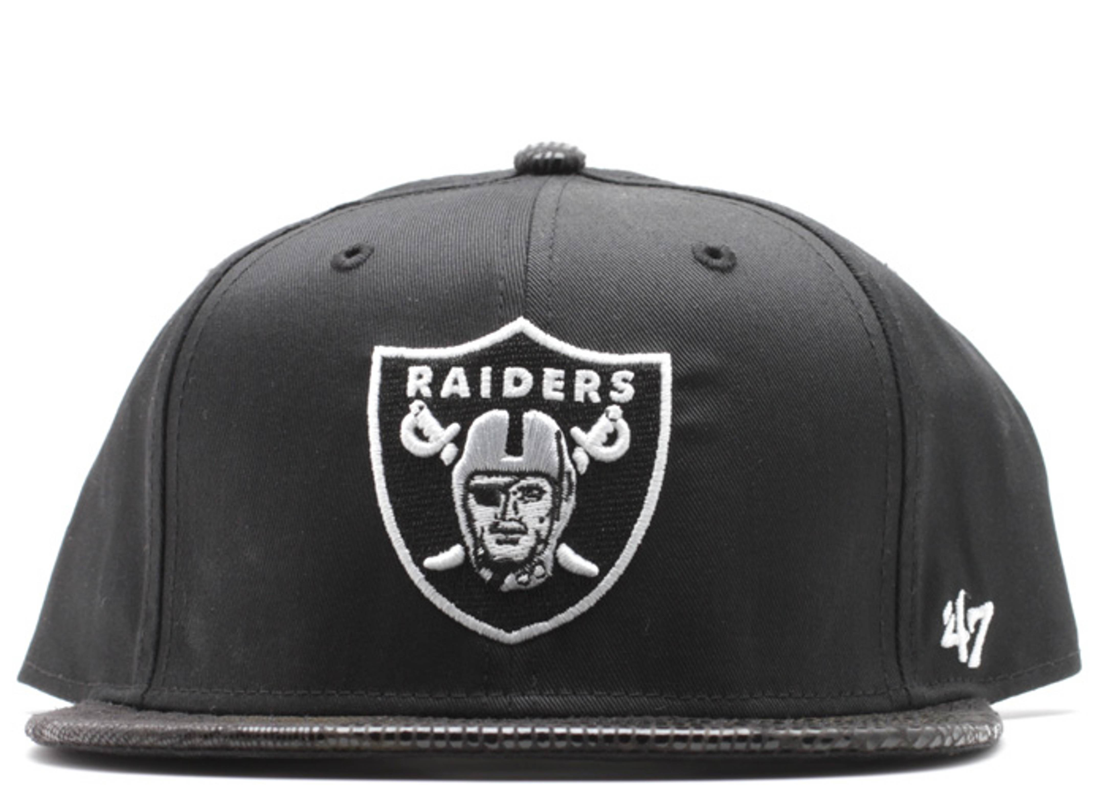 oakland raiders gator strap-back
