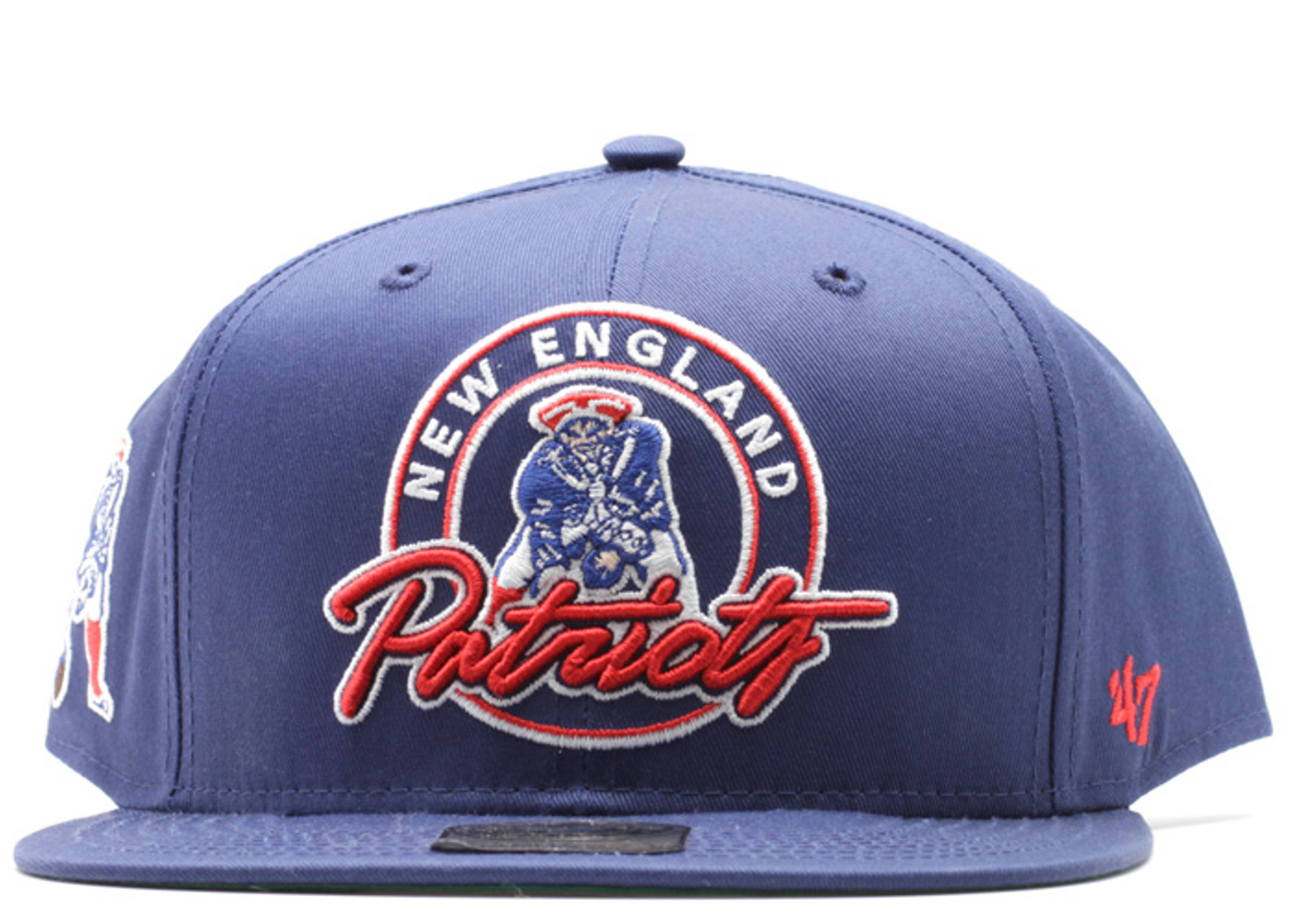 new england patriots strap-back