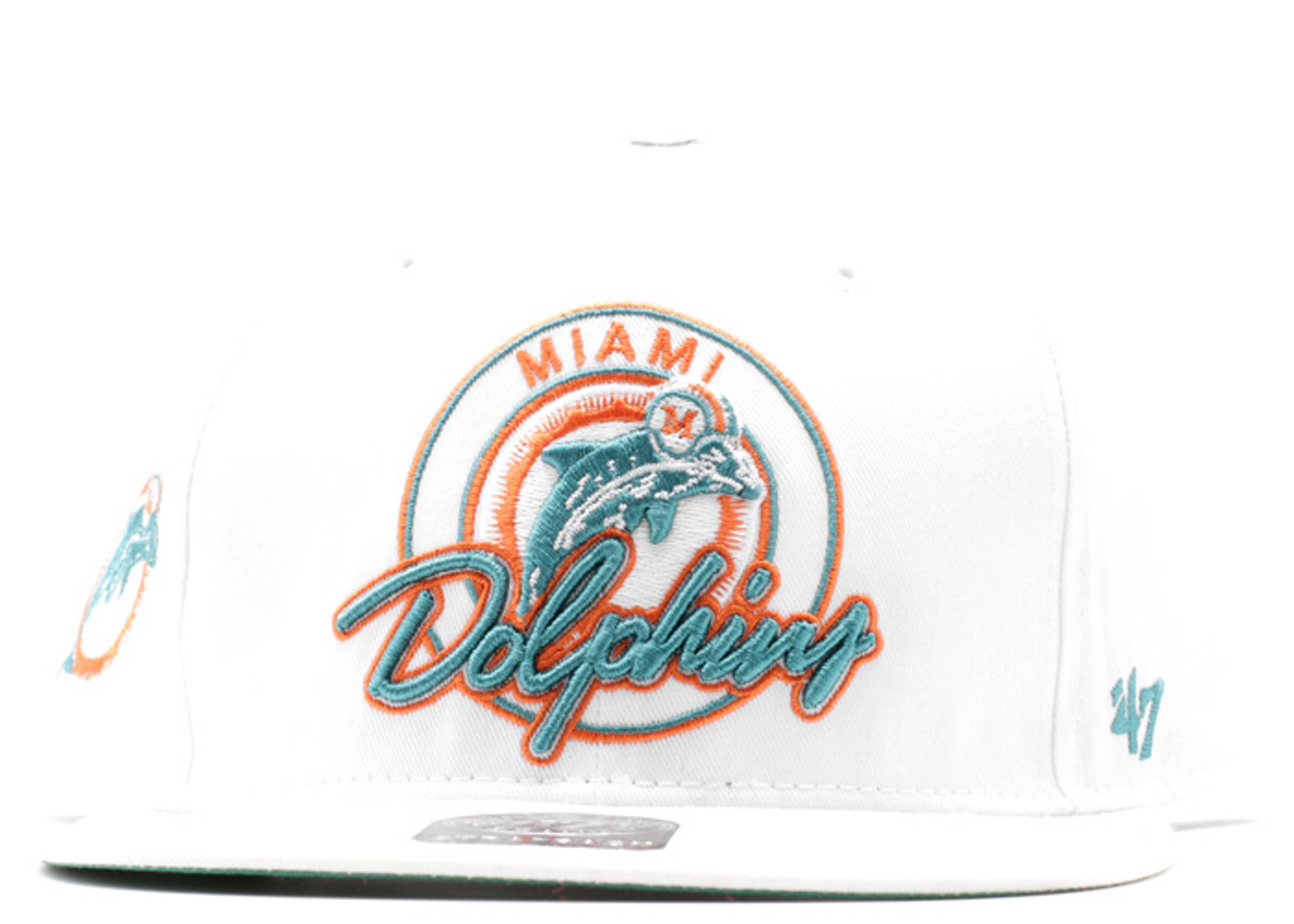 miami dolphins strap-back