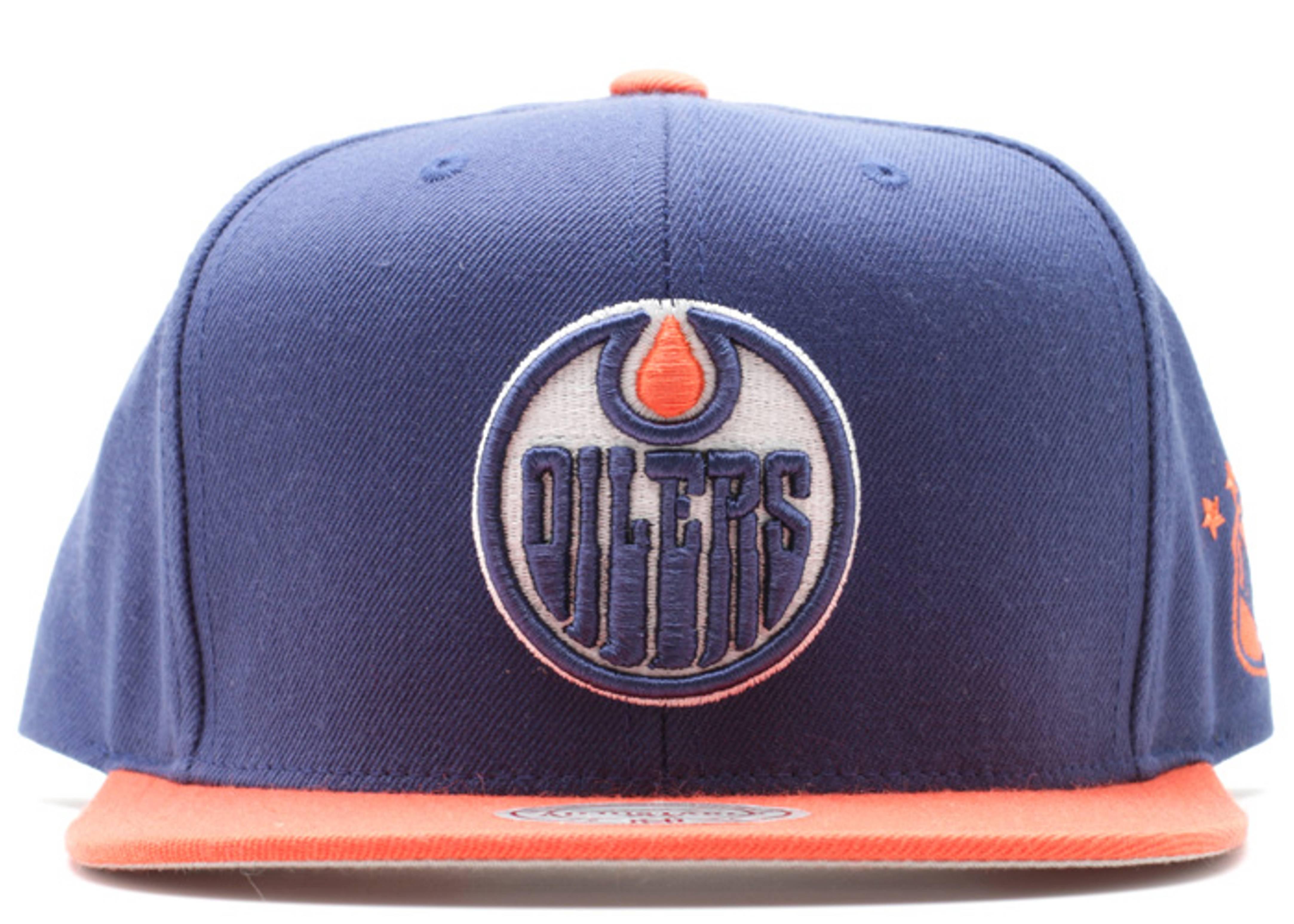 online retailer a9ced e4a4b Edmonton Oilers Snap-back - Mitchell & Ness - nc98mtc7oiler ...