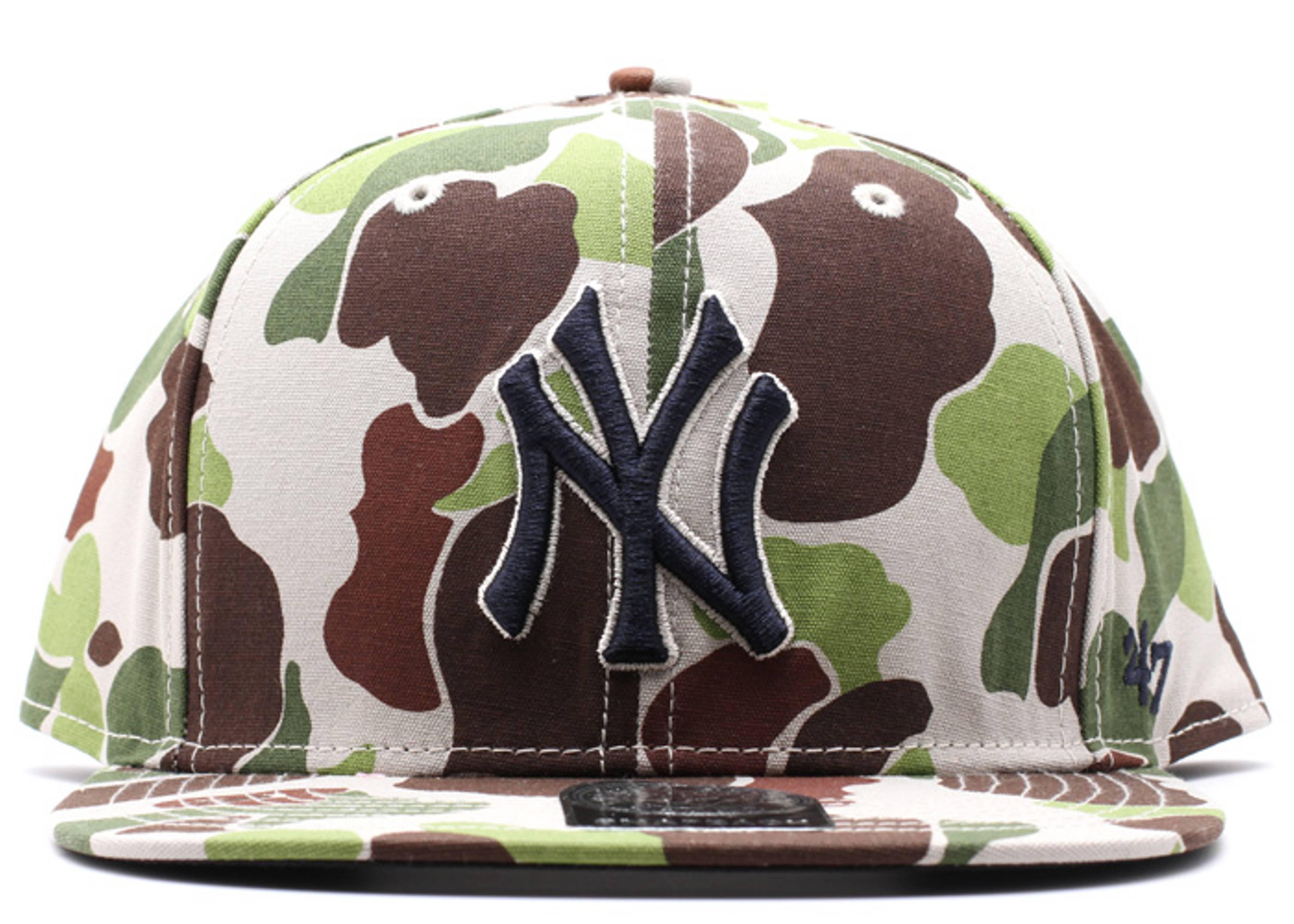 "new york yankees snap-back ""duck camo"""