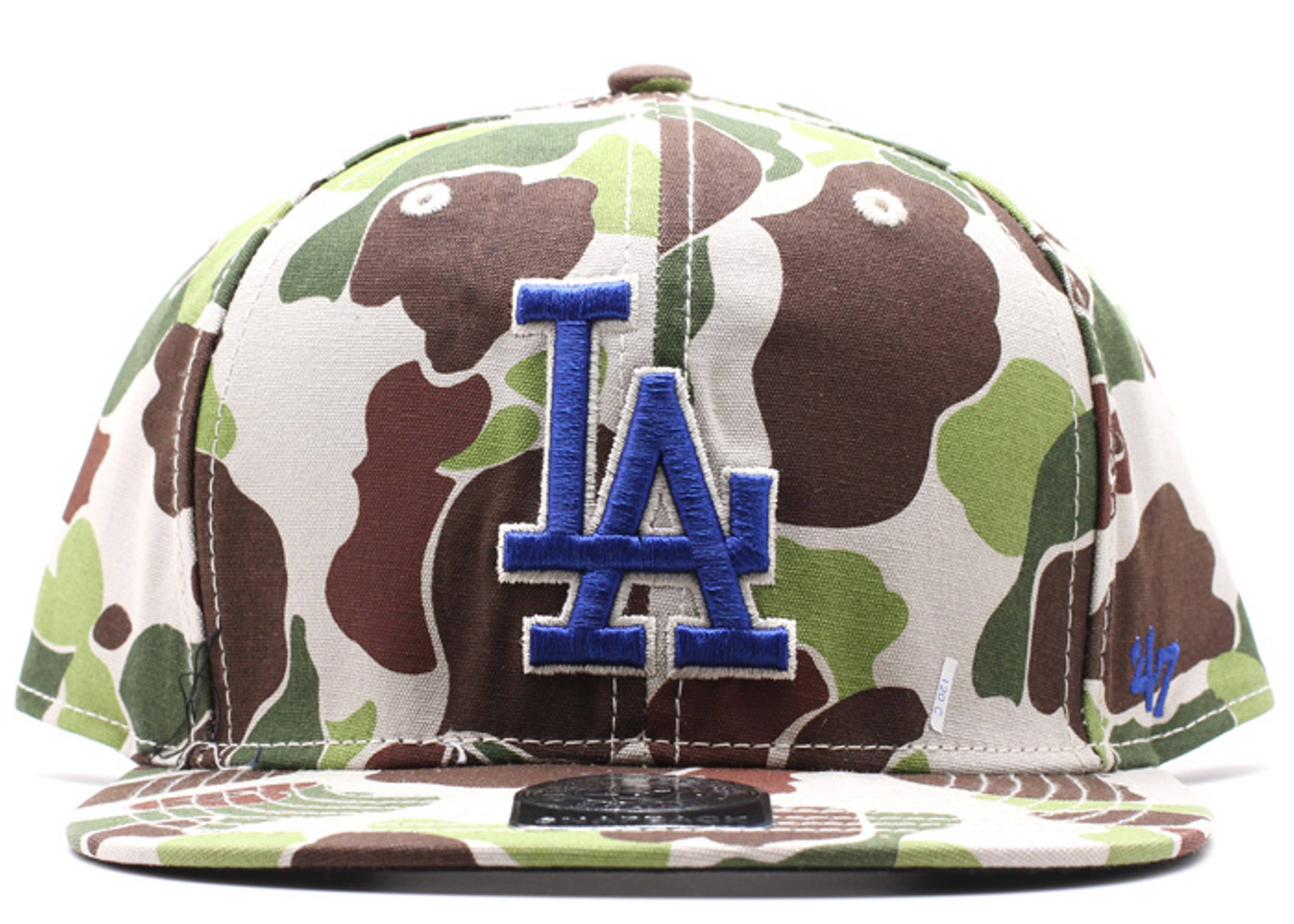 "los angeles dodgers snap-back ""duck camo"""