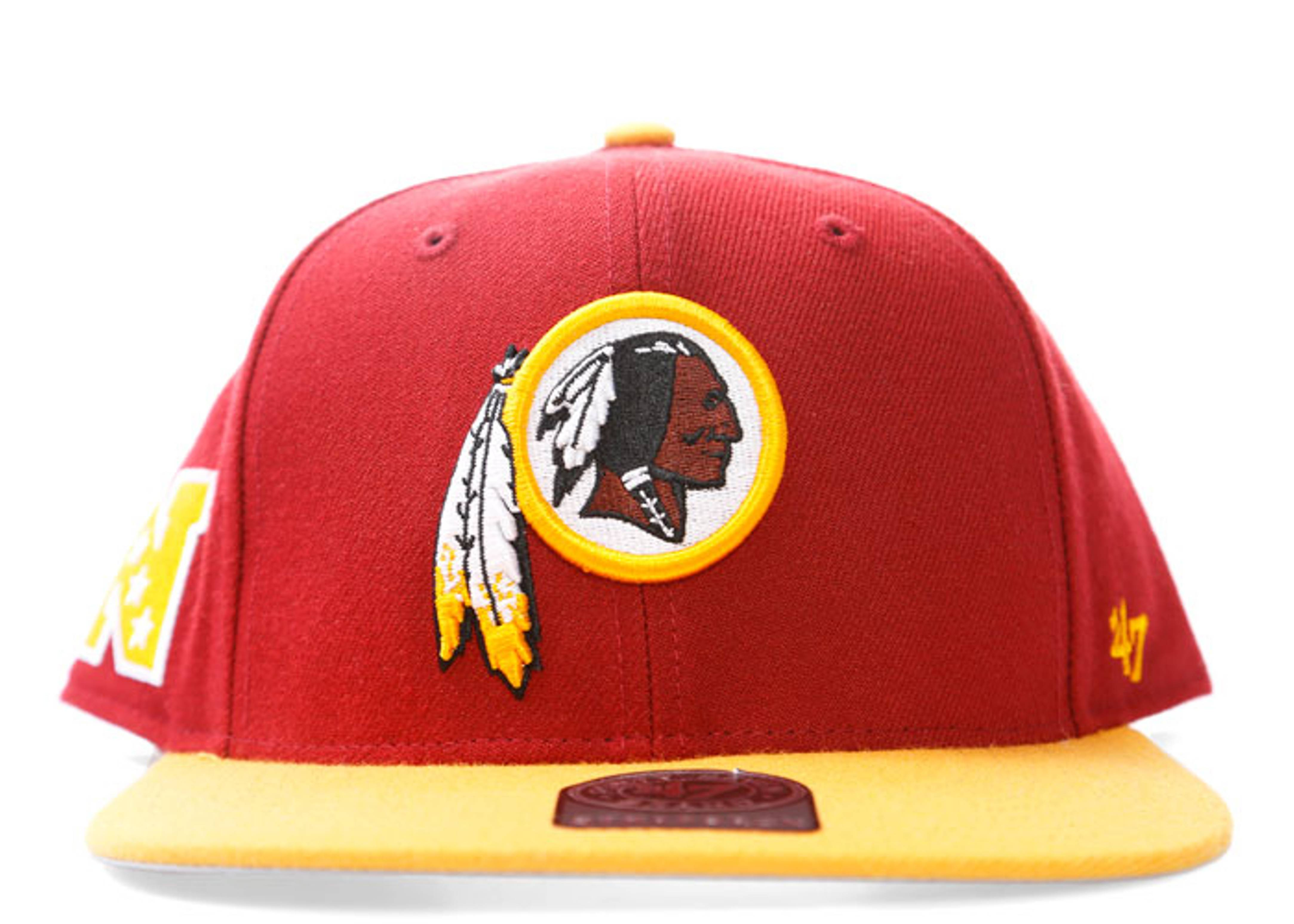 12d7532b30114 Washington Redskins Strap-back - 47 Brand - fsustt32wbsrz - burgundy ...