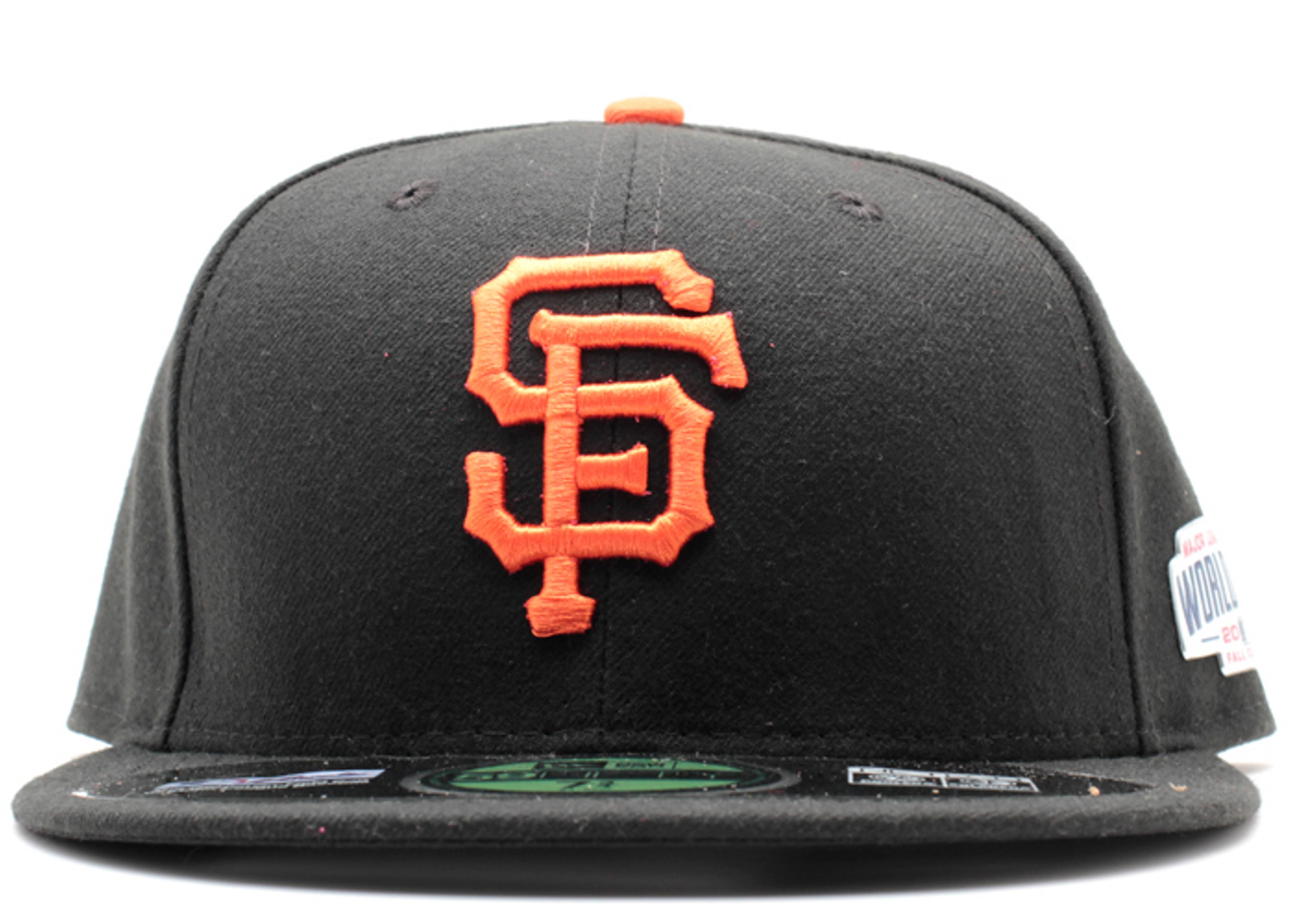"san francisco giants fitted """"2014"" world series patch"""