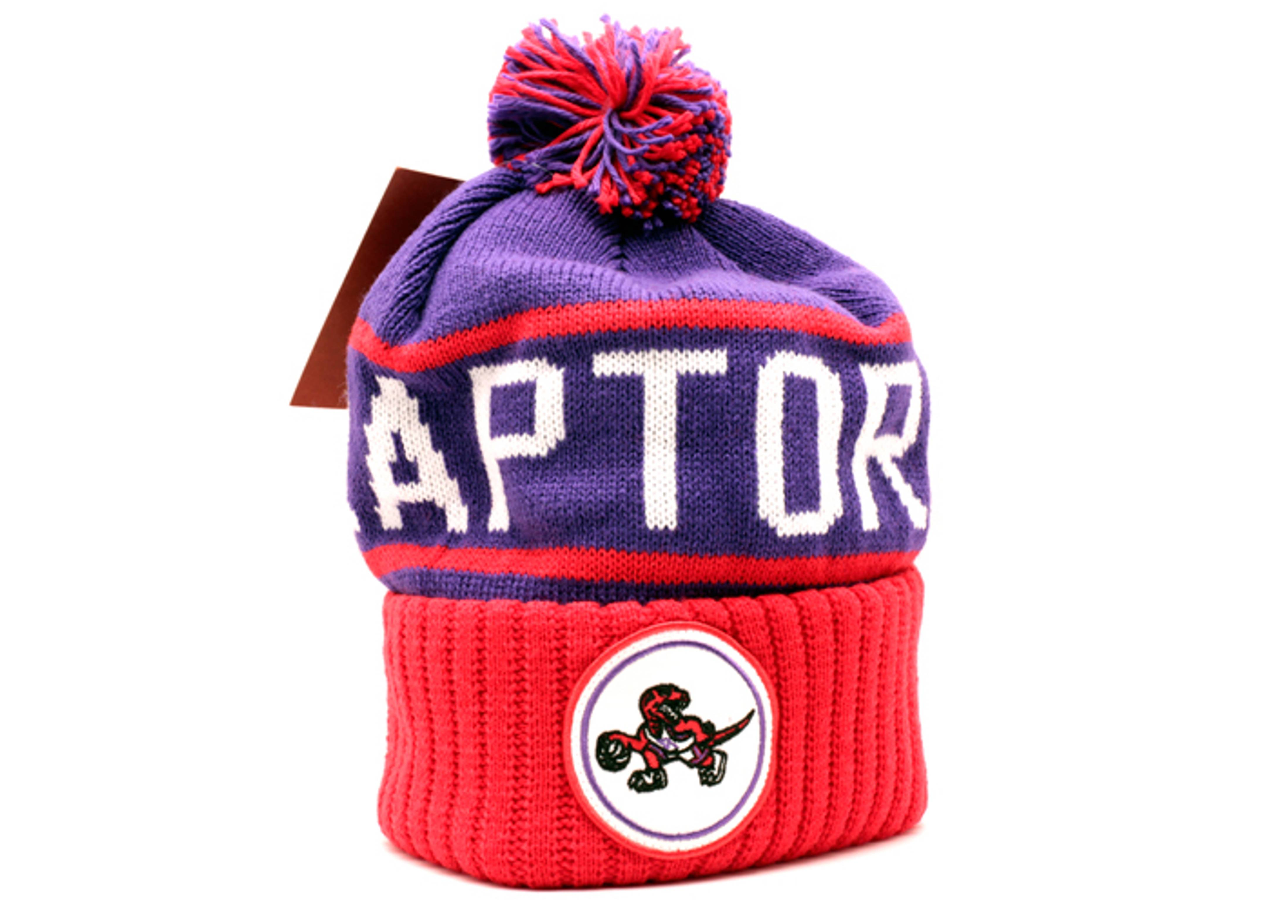 f45a4e9b7e0 ... discount toronto raptors cuffed pom knit beanie 2bc5e ac9af